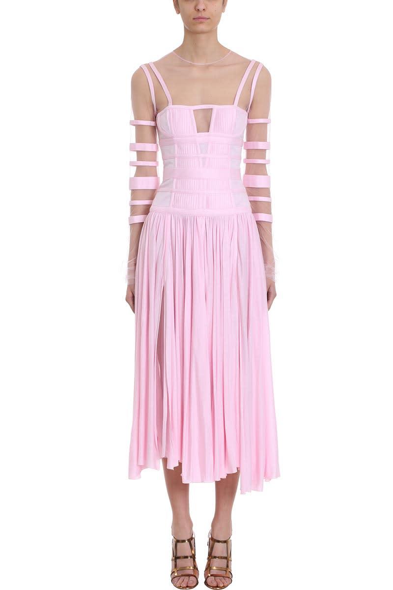 Giovanni Bedin Long-sleeve Midi Dress