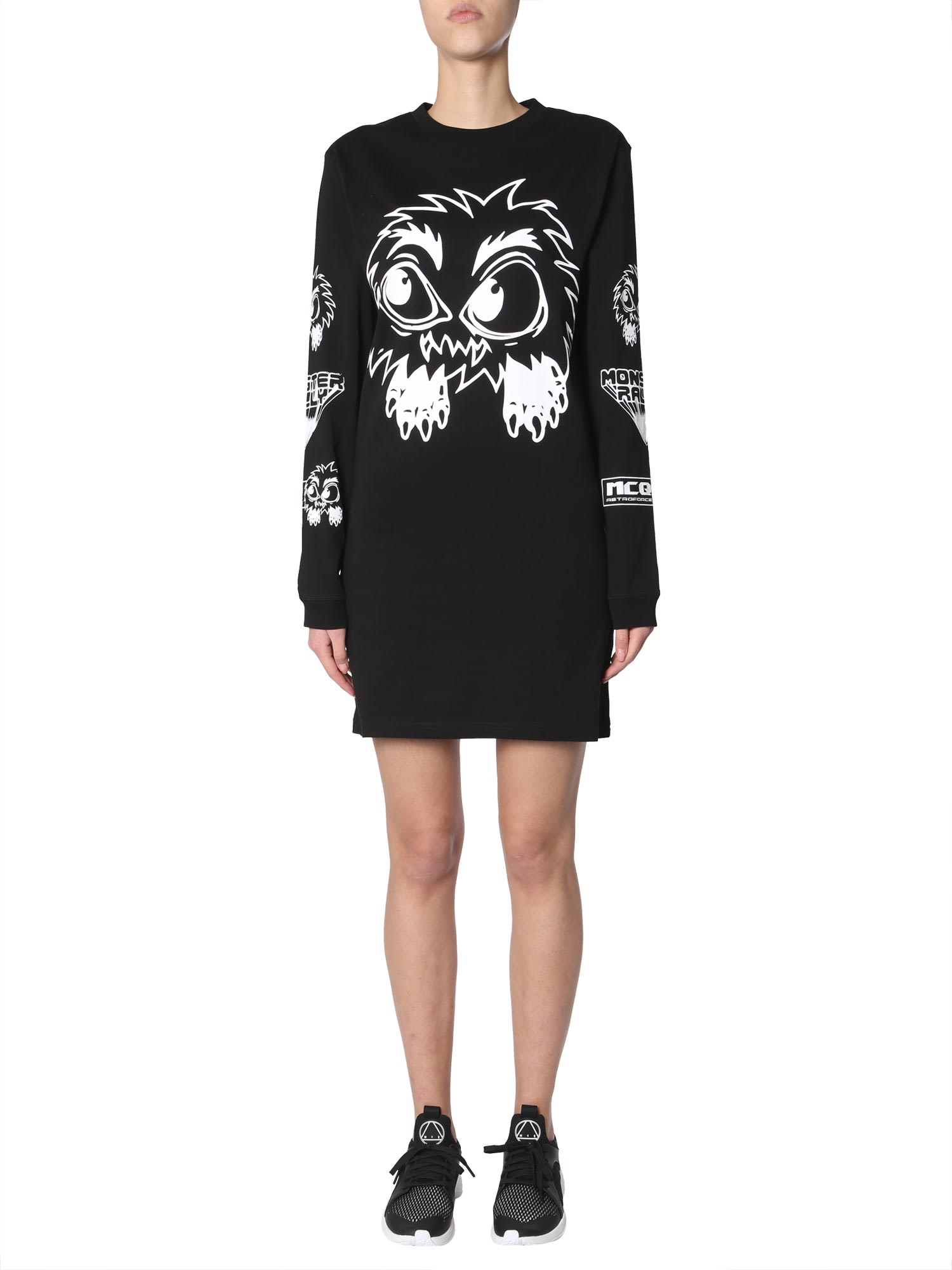 McQ Alexander McQueen Cotton Jersey Dress