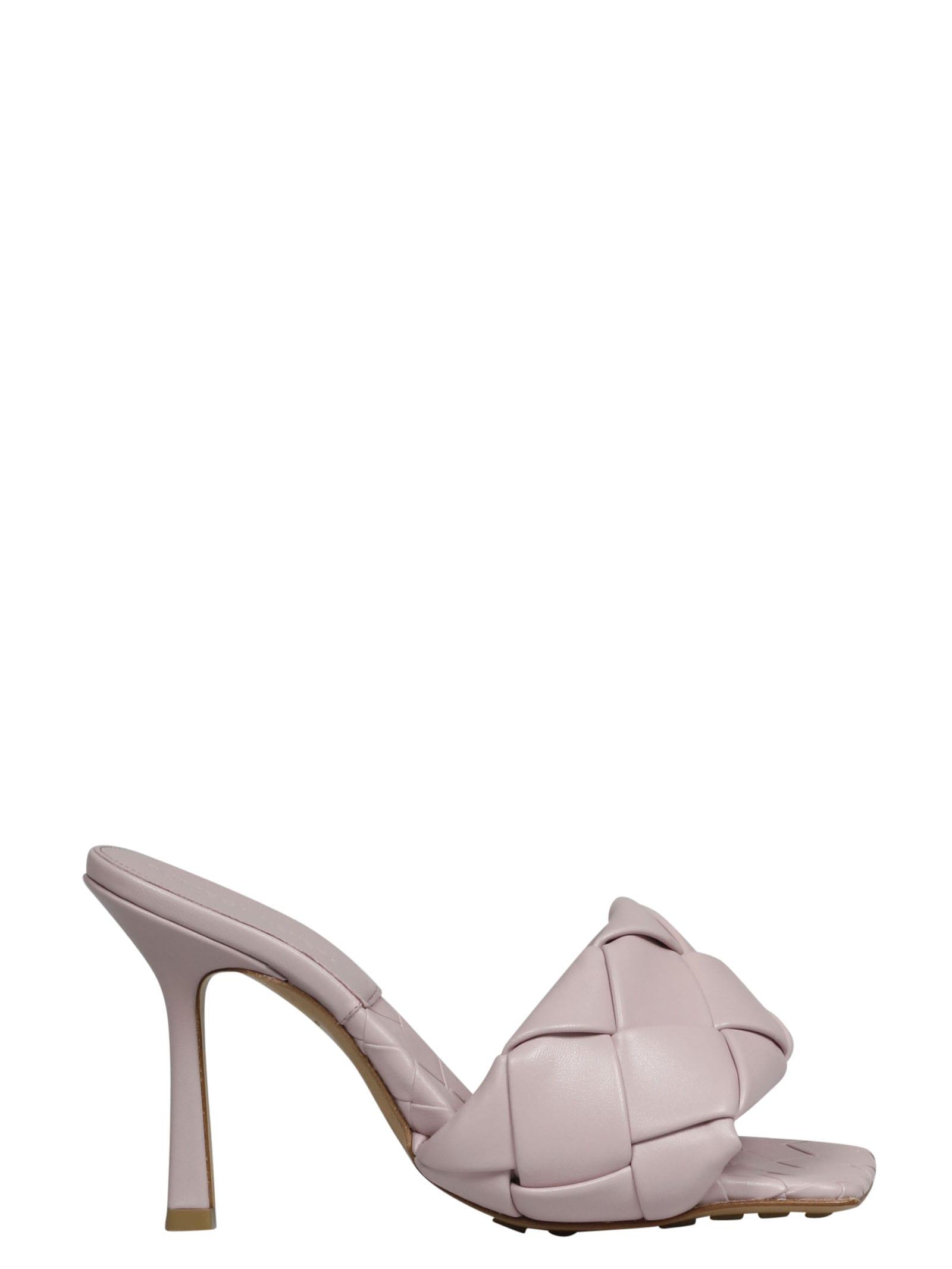 Buy Bottega Veneta Lido Sandal online, shop Bottega Veneta shoes with free shipping