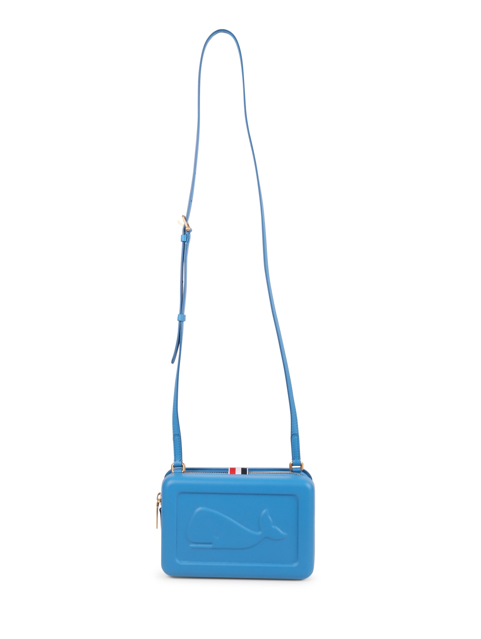 Thom Browne Blue Whale Crossbody Bag