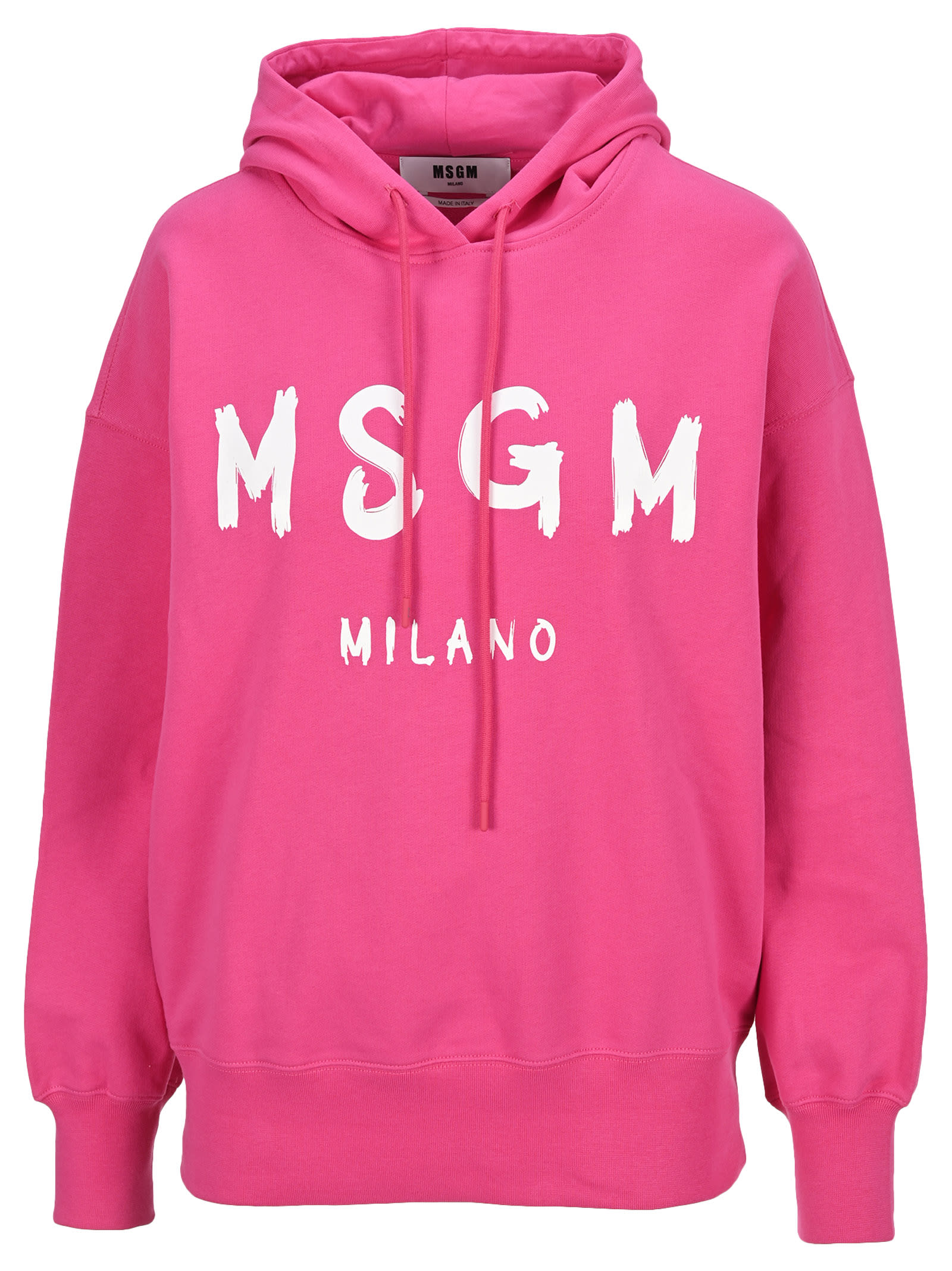 Msgm Hoodie Classic Logo