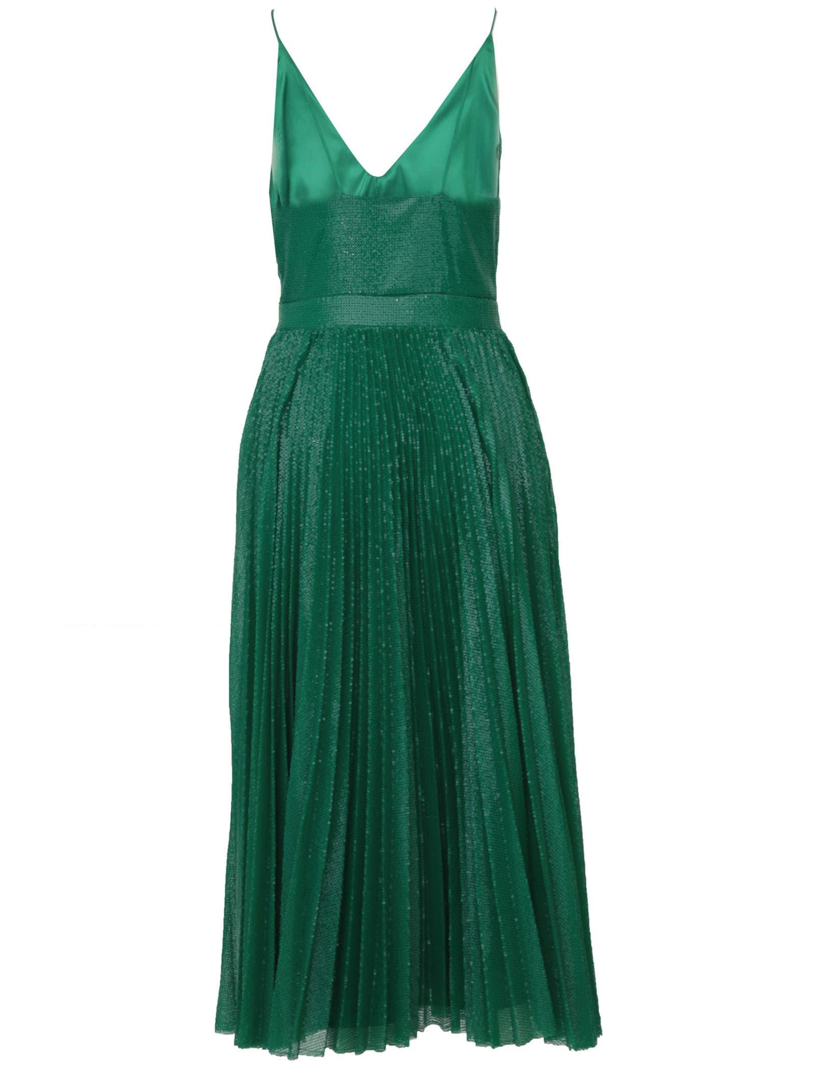 Sequinned Midi Dress Msgm
