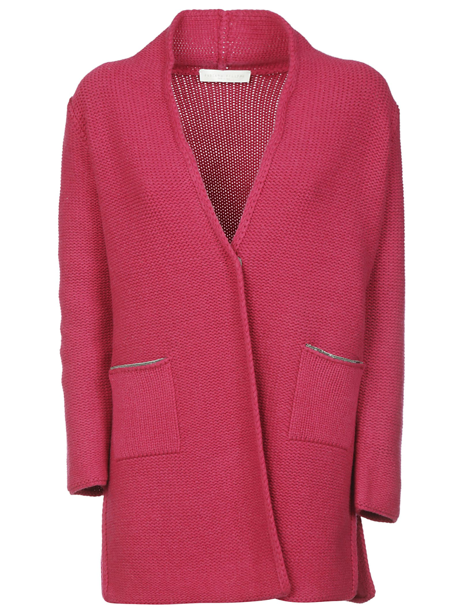 Photo of  Fabiana Filippi Knitted Cardi Coat- shop Fabiana Filippi jackets online sales