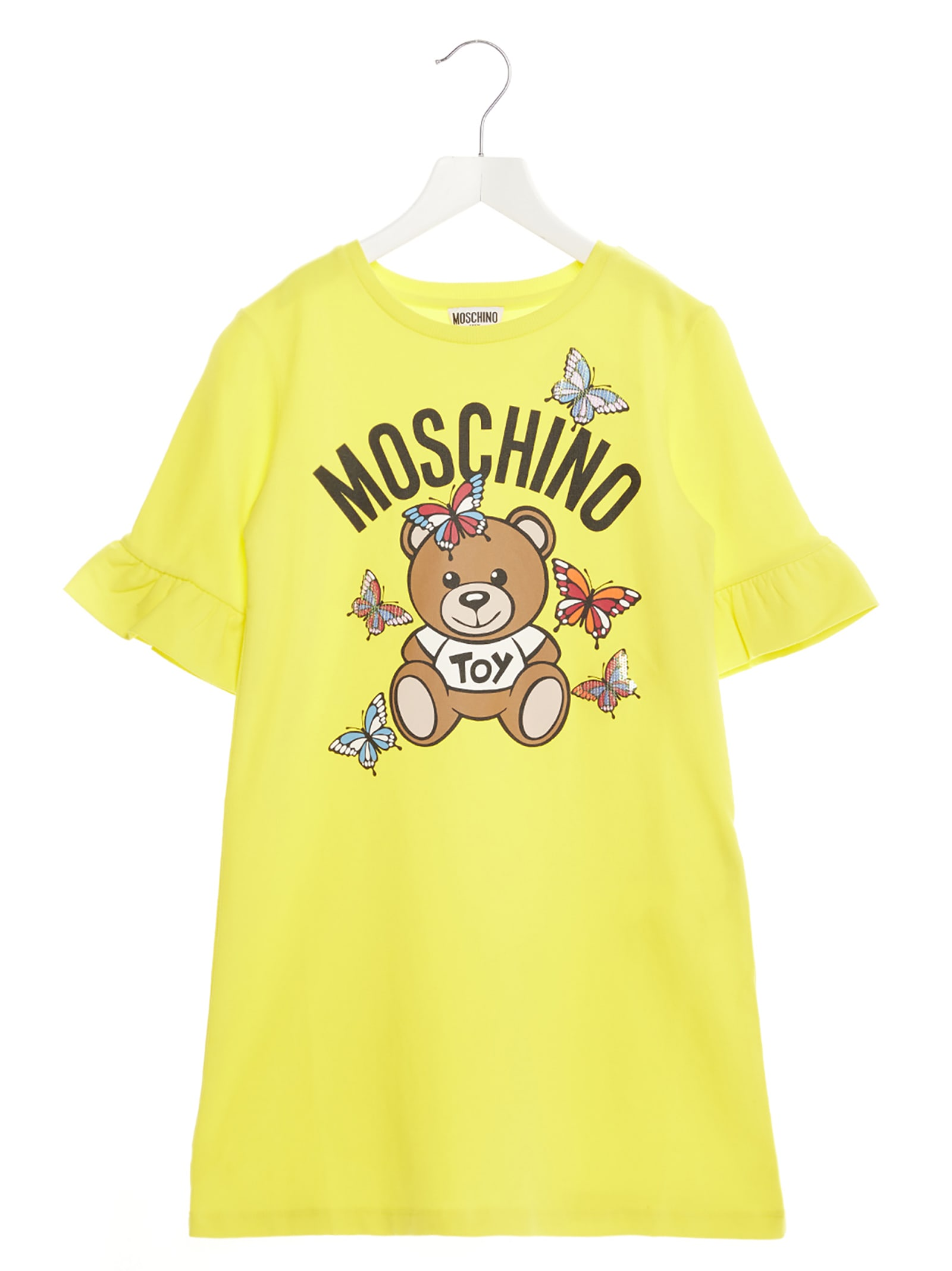 Buy Moschino butterfly Teddy Toy Dress online, shop Moschino with free shipping