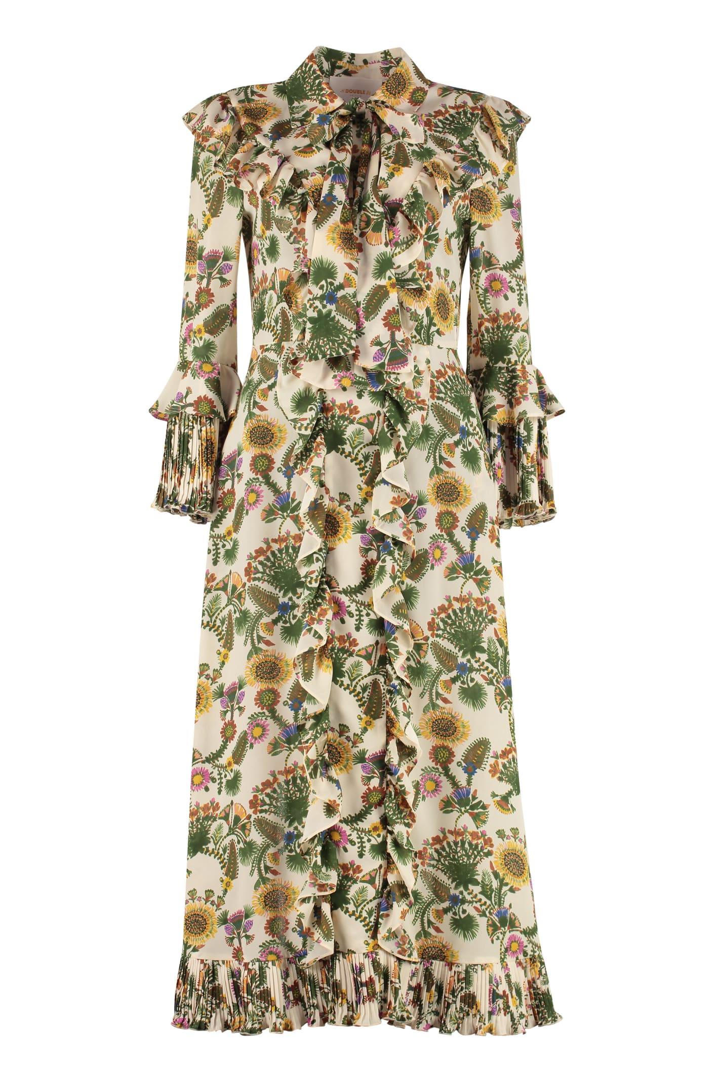 La DoubleJ Long Fancy Printed Maxi Dress