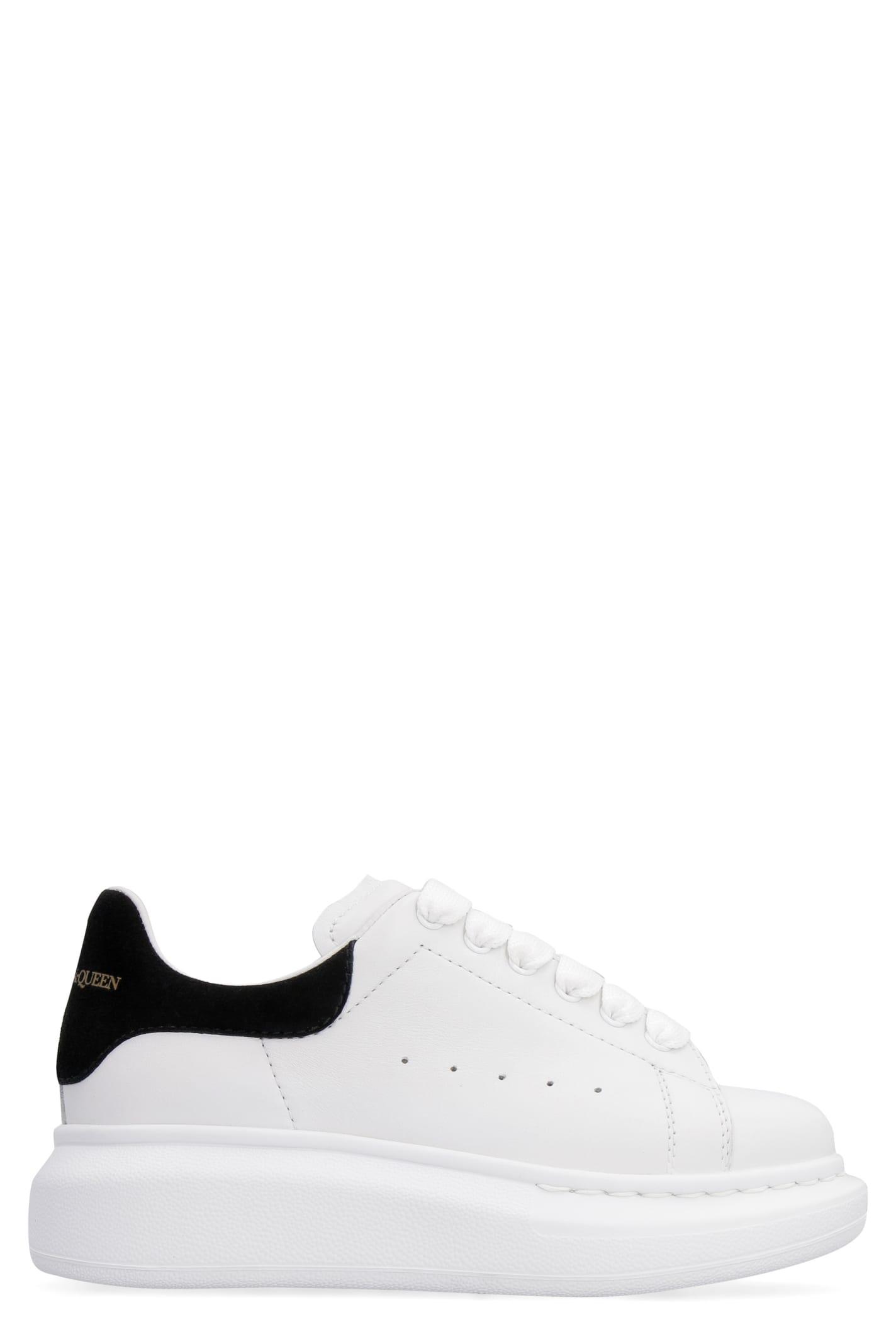 Alexander McQueen Extended Sole Oversized Sneakers