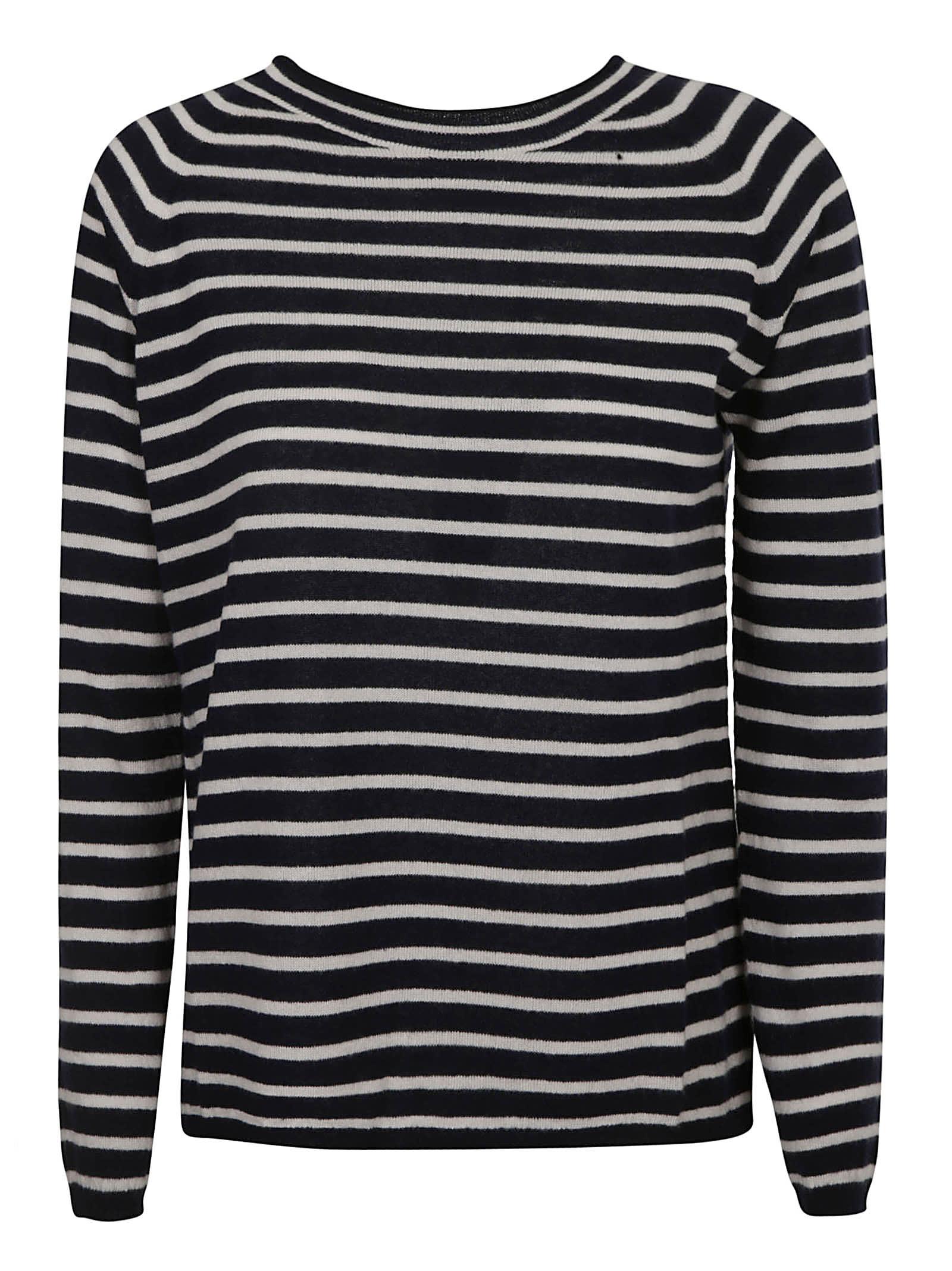 Max Mara Sweaters STRIPE KNIT SWEATER