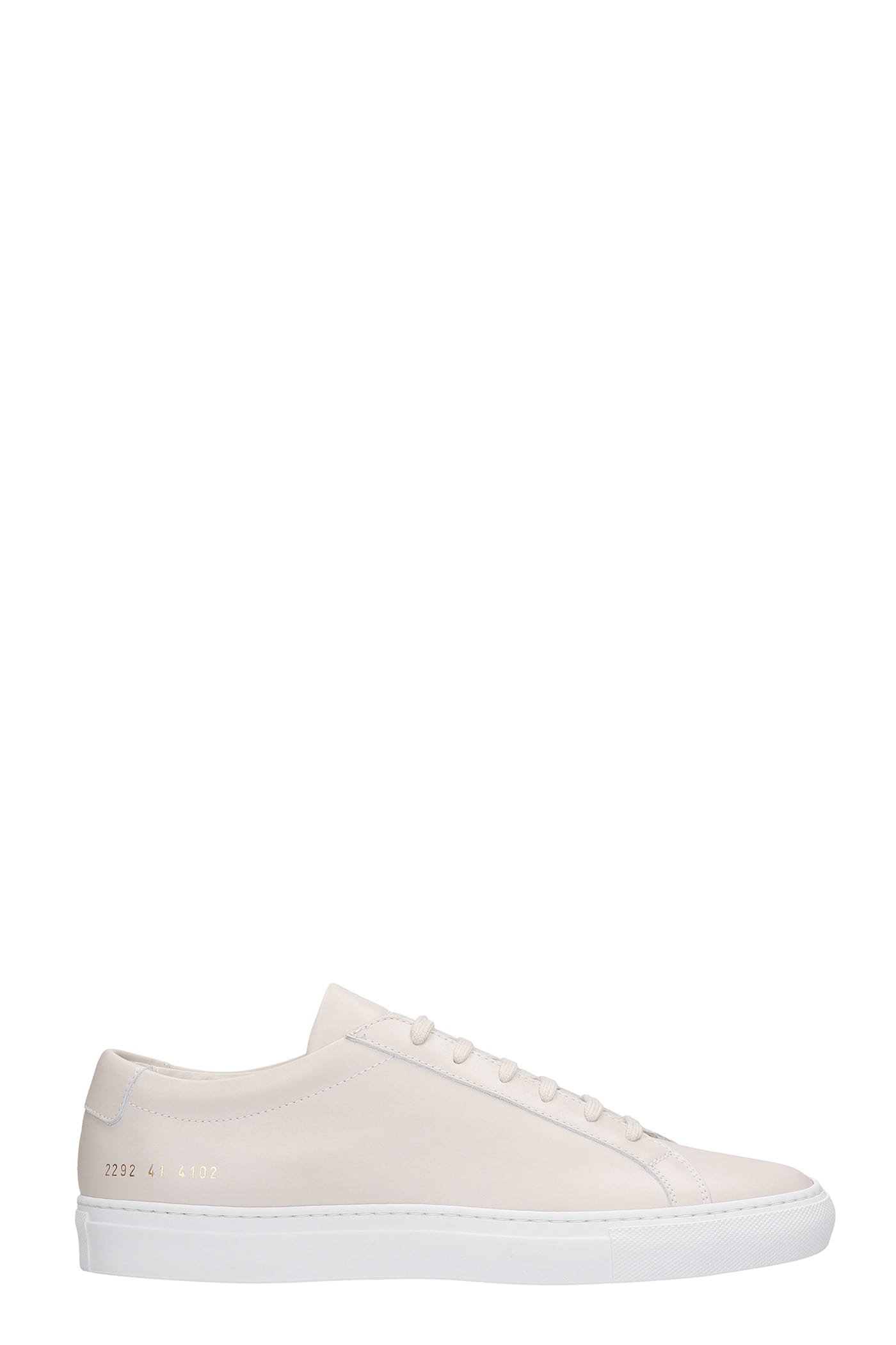 Common Projects Sneakers ACHILLE SNEAKERS IN BEIGE LEATHER