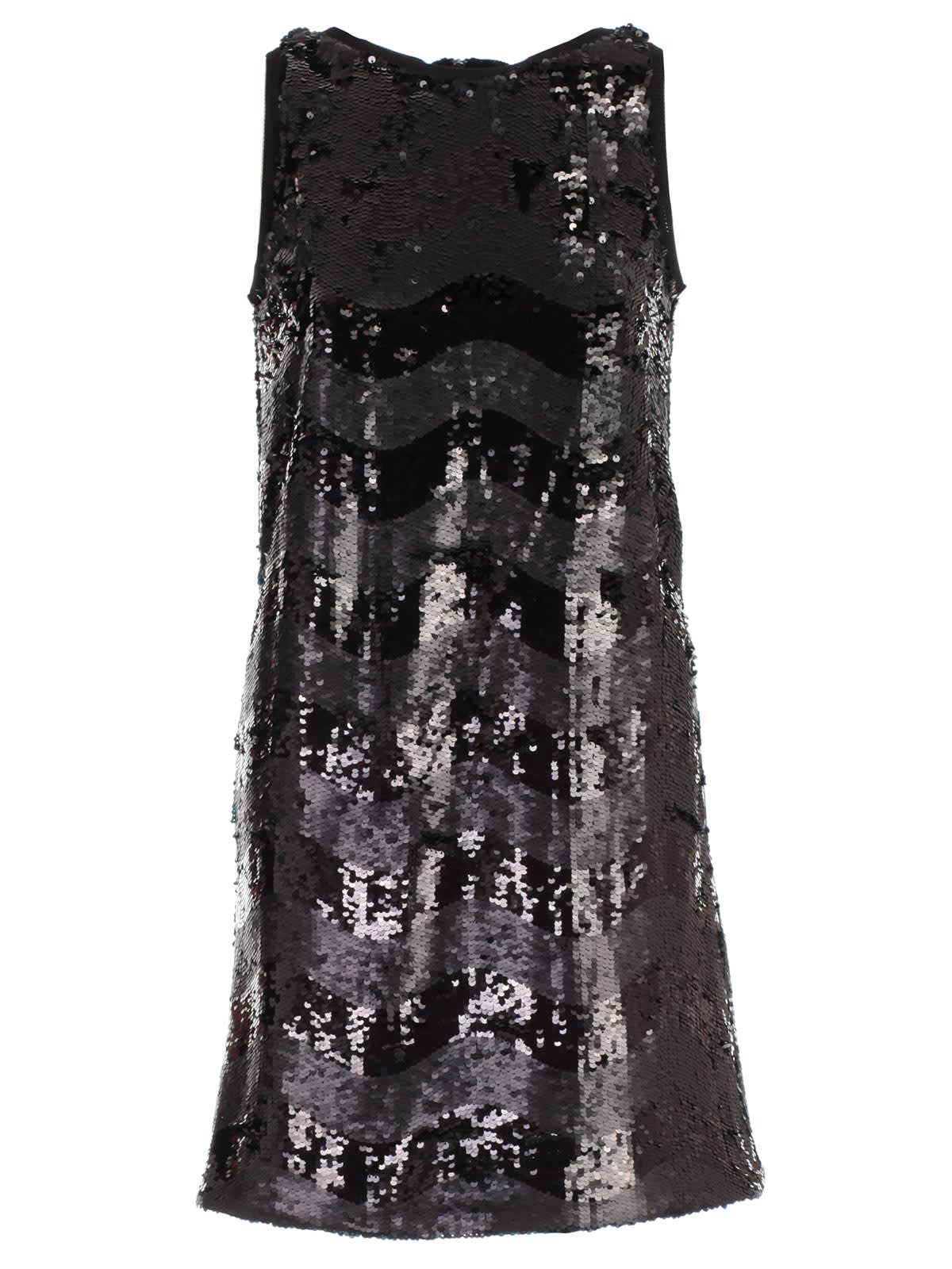 Emporio Armani Dress W & s Paillettes