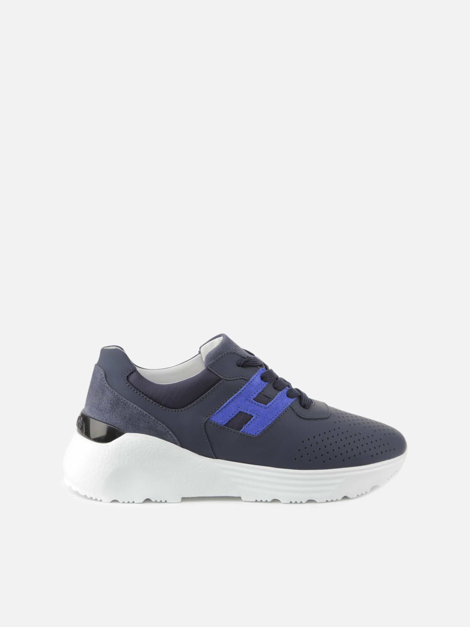 Hogan ACTIVE ONE SNEAKERS IN RUBBER-EFFECT LEATHER