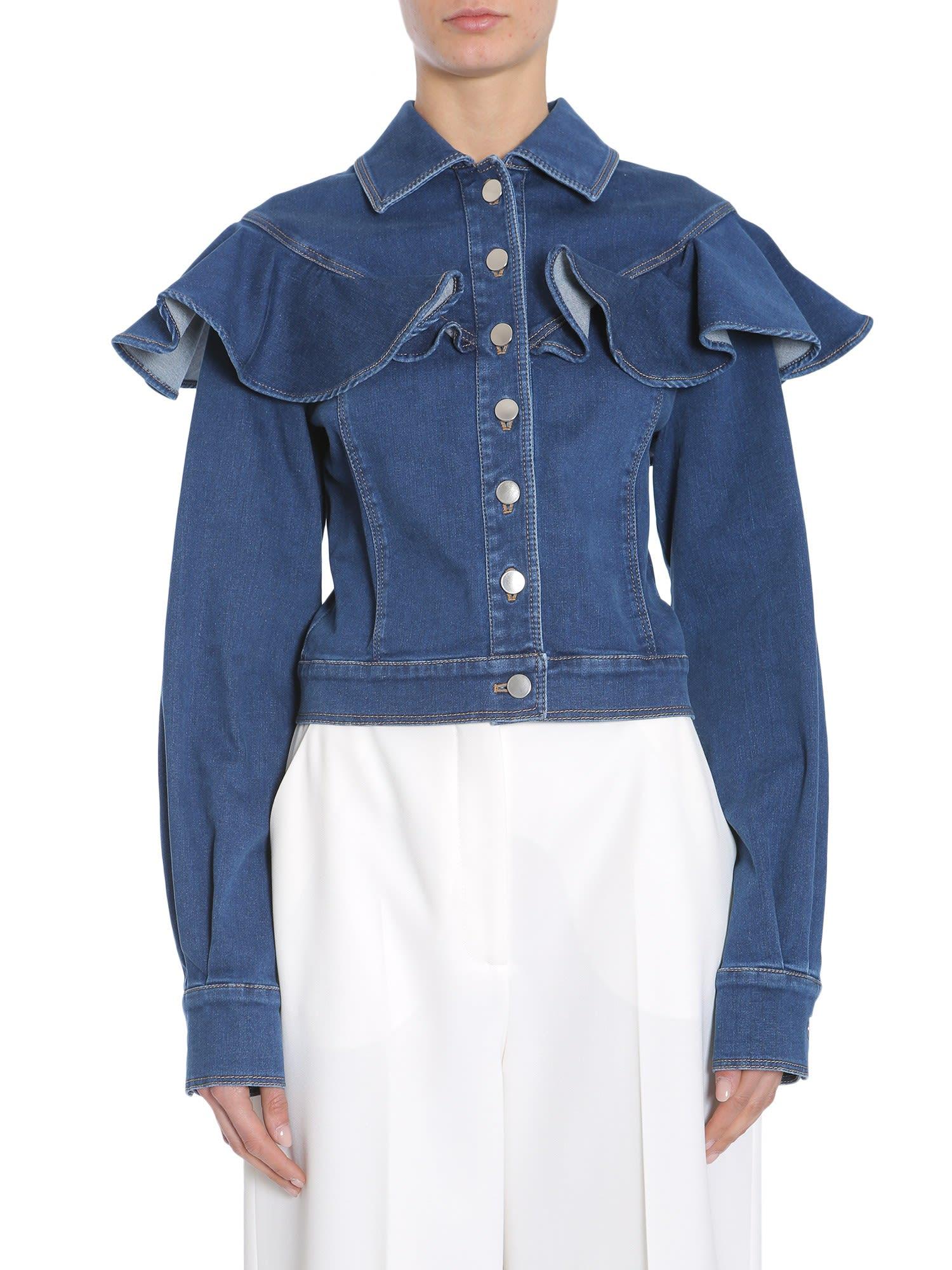 Sara Battaglia Denim Jacket