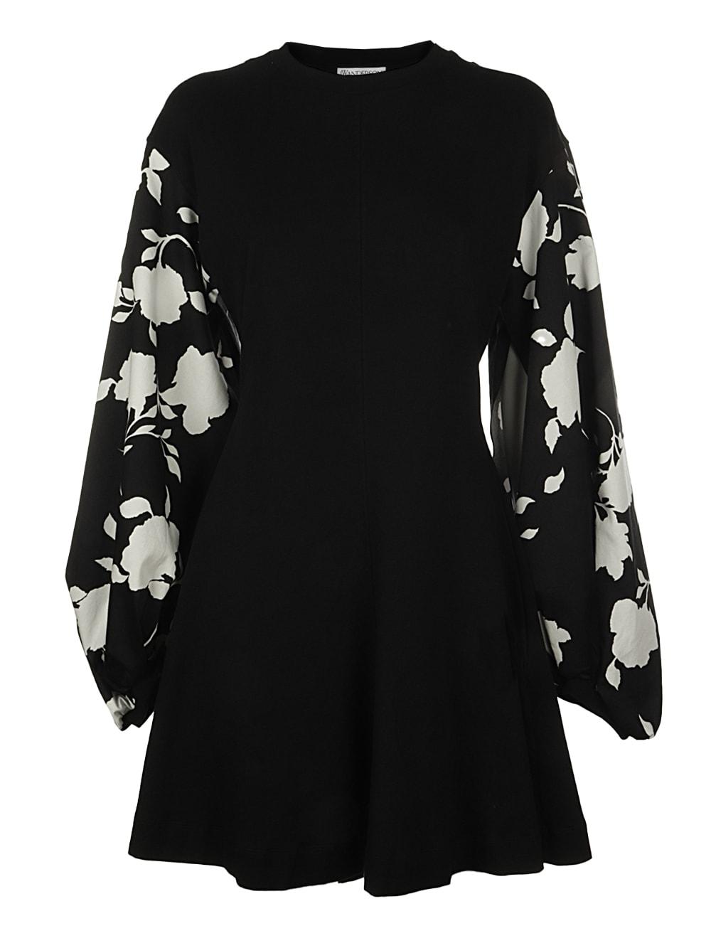 Jw Anderson Mini dresses CONTRAST SLEEVE MINI DRESS