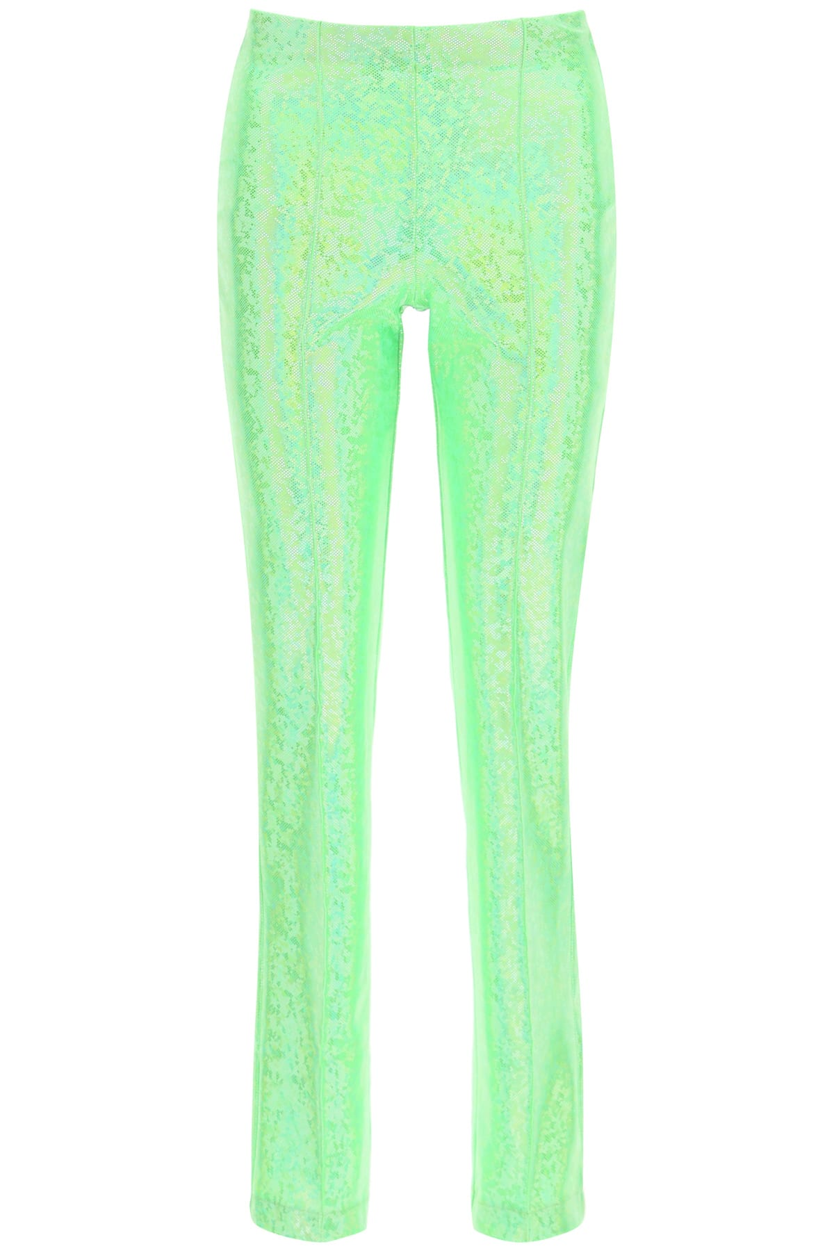 Saks Potts LISSI GREEN SHIMMER TROUSERS