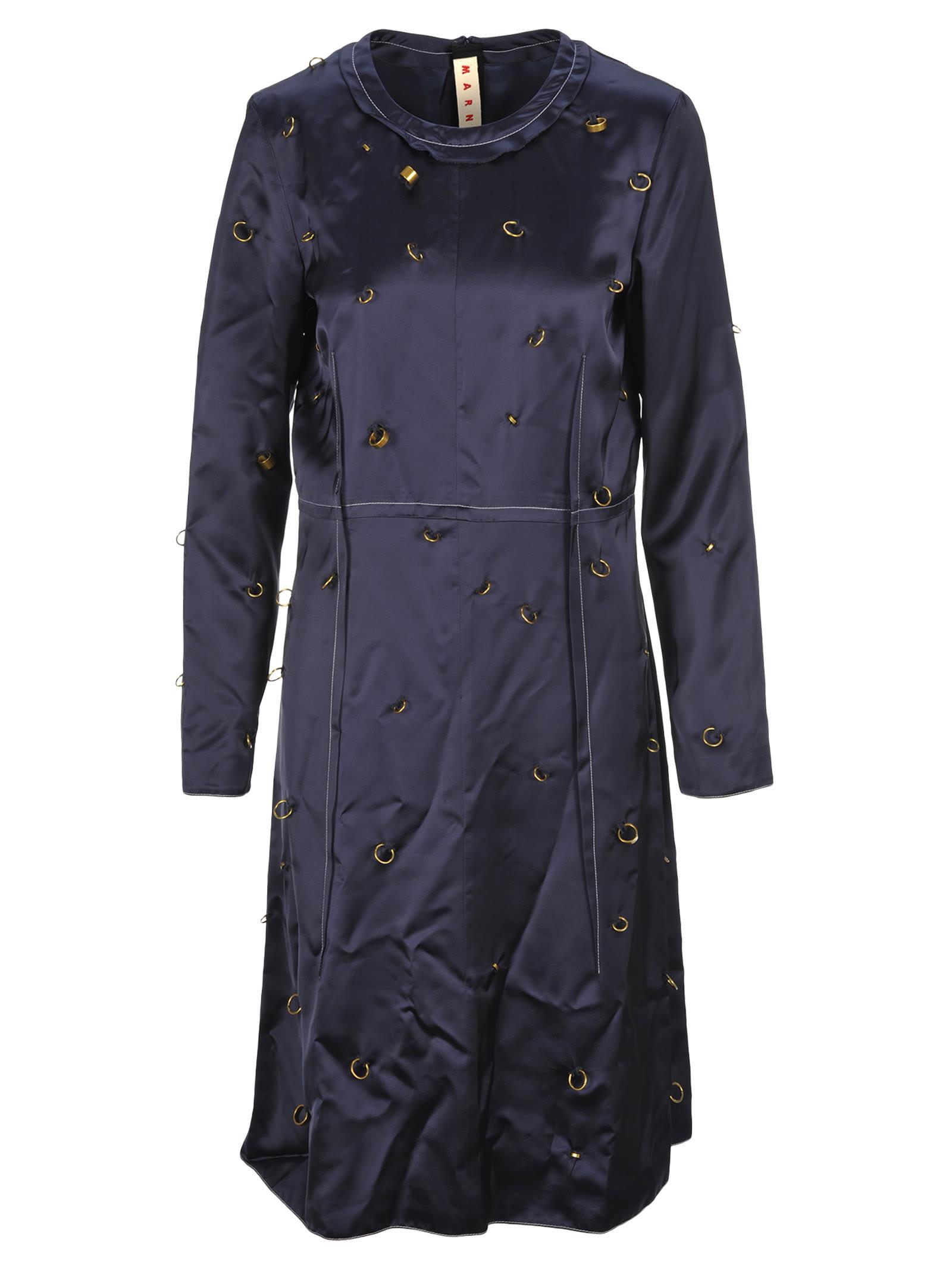 Marni Rings Detail Dress