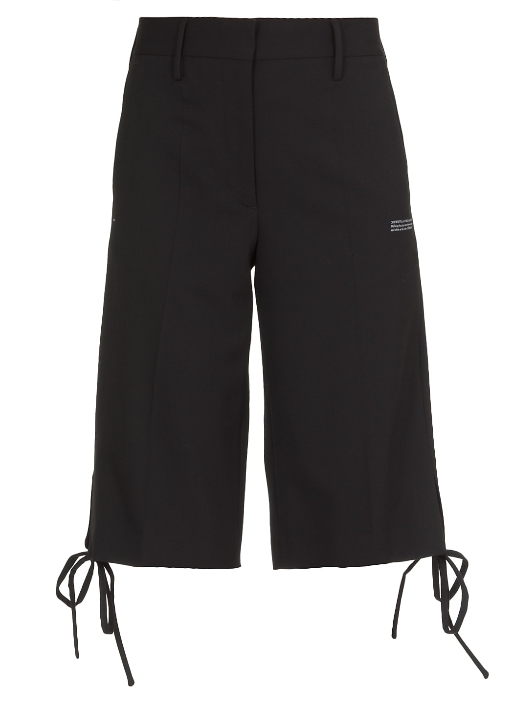 Off-White Strings Formal Shorts