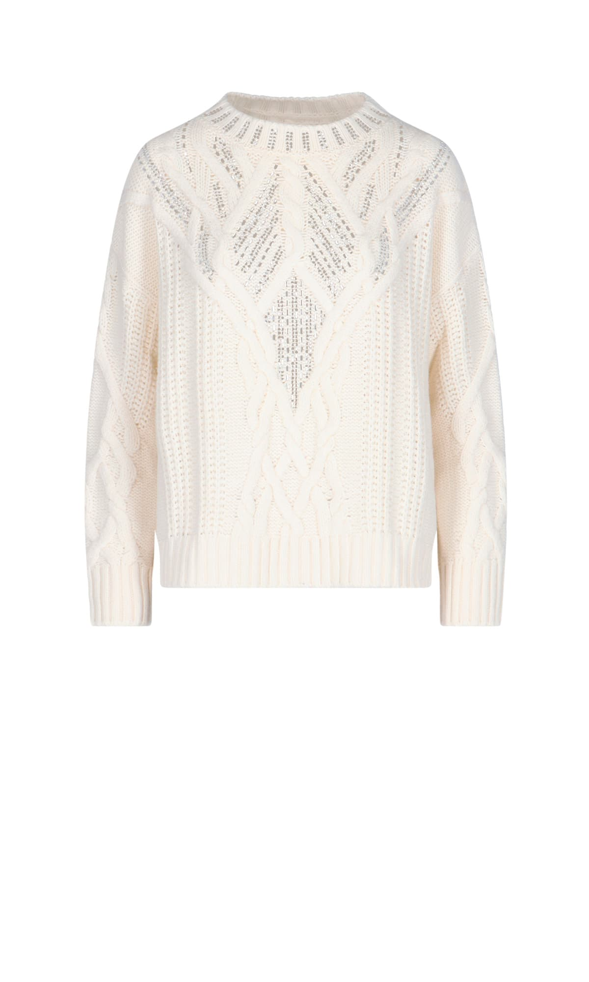 Ermanno Scervino BRAIDED SWEATER