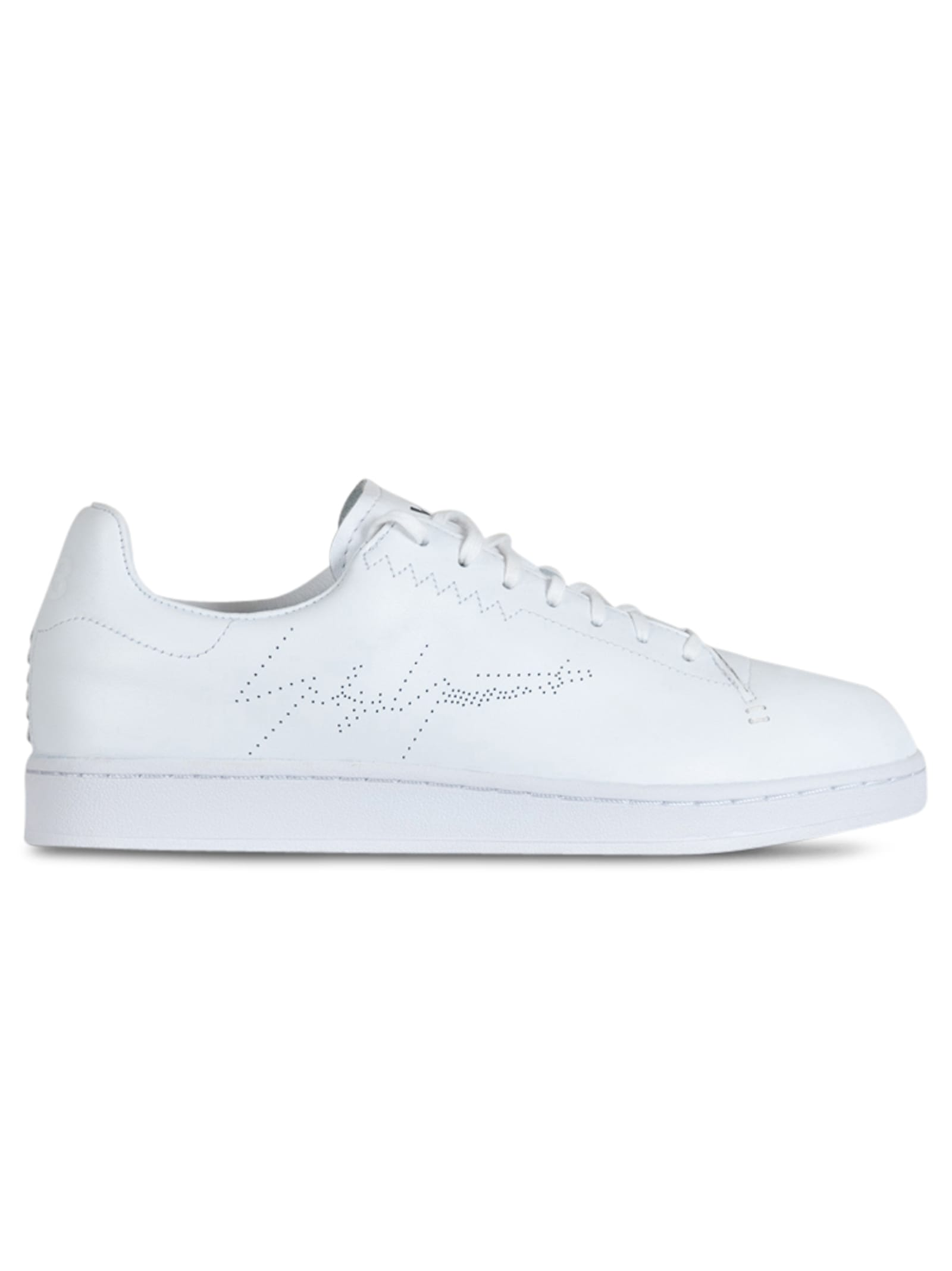Y3 YOHJI COURT SNEAKERS COLOR WHITE