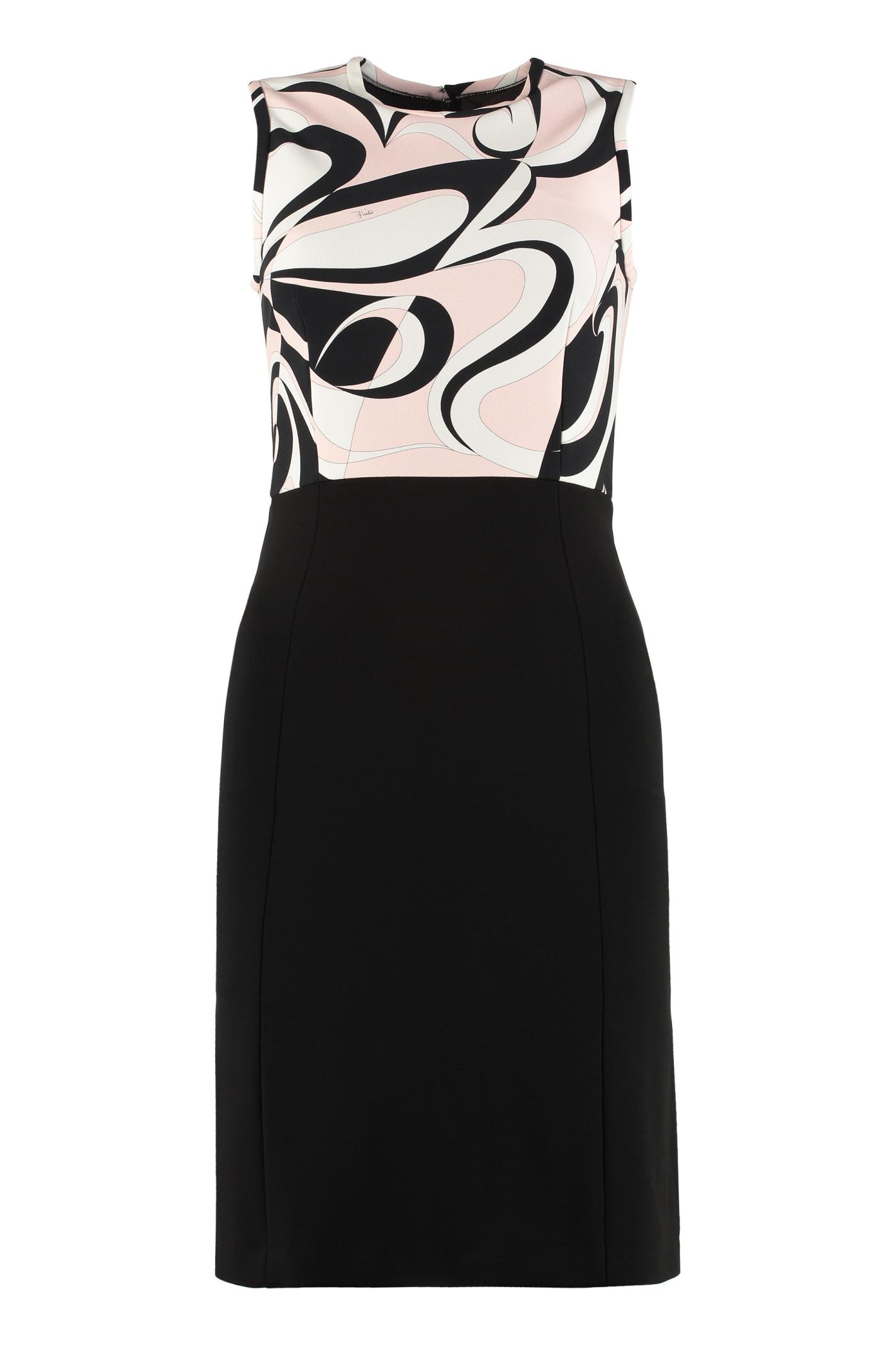 Emilio Pucci Midi Viscose Dress