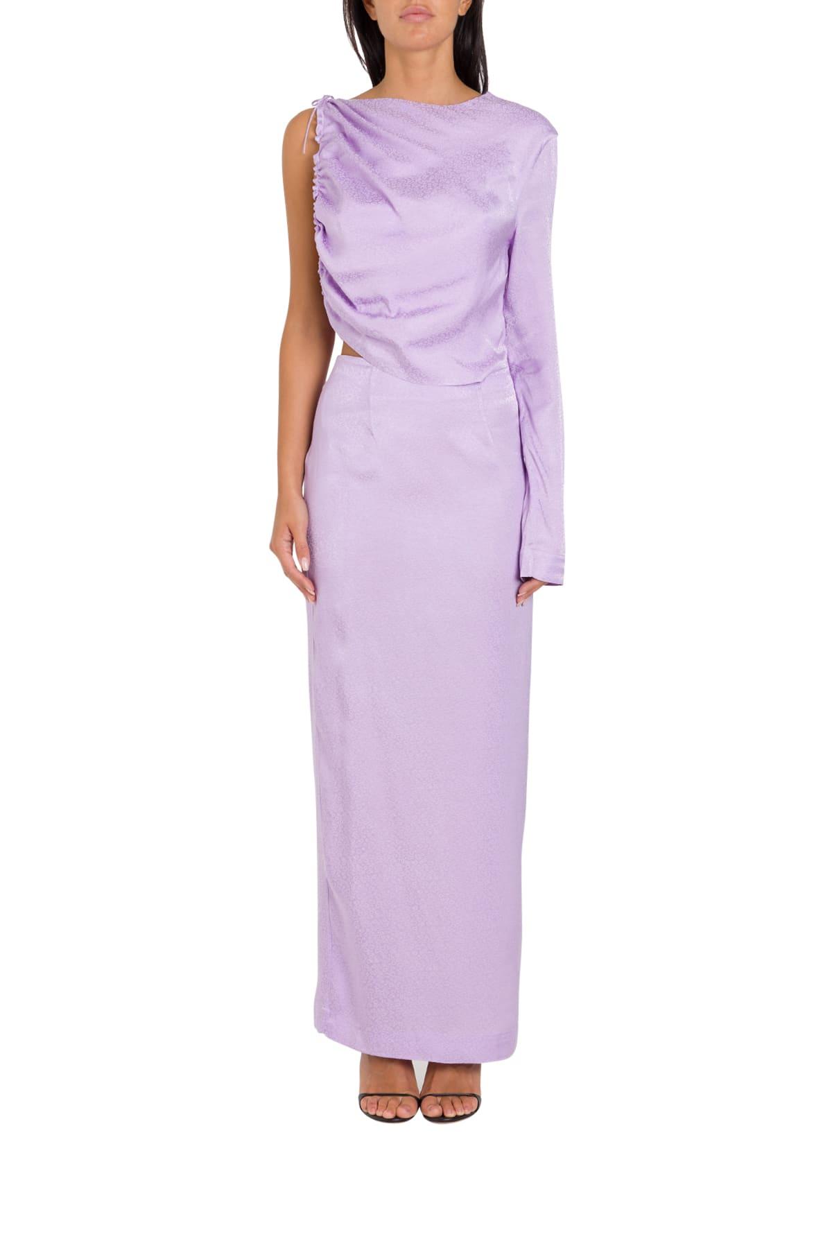 Buy MATÉRIEL Cut Out Detailed Dress online, shop MATÉRIEL with free shipping