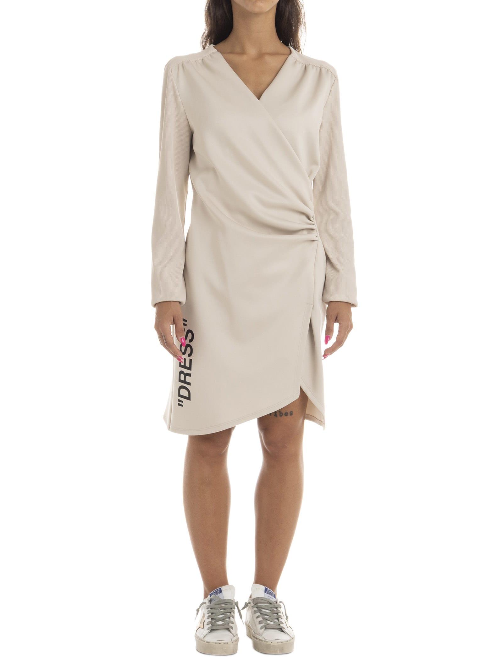 Off-White Side Opening Mini Dress