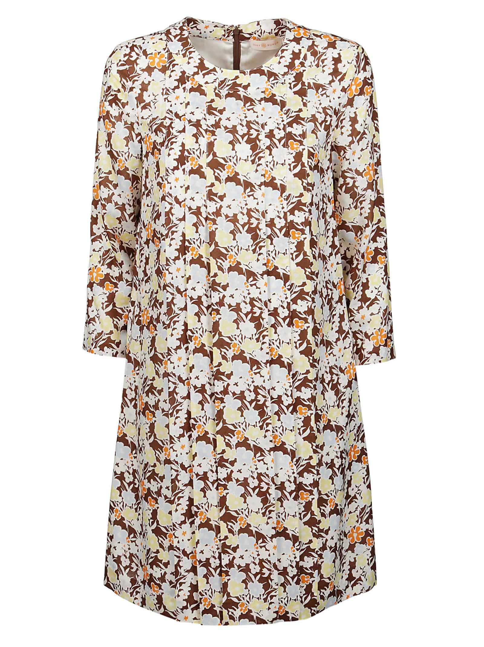 Tory Burch Dress Short Challis