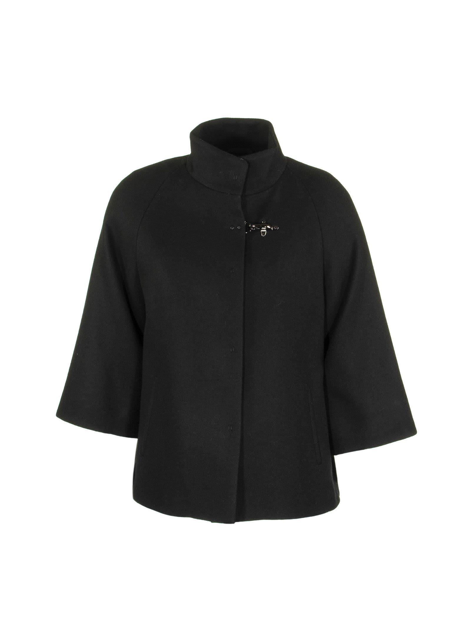 Fay Cape Black Coats