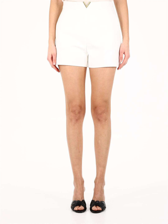 Valentino VGOLD SHORTS WHITE