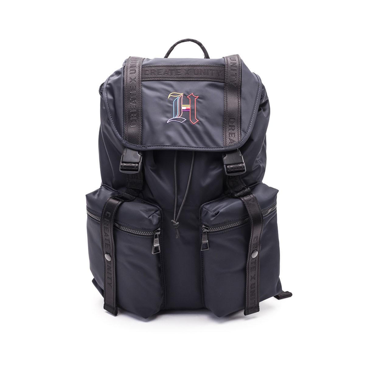 785d631e Tommy Hilfiger Tommy Hilfiger X Lewis Hamilton Backpack - BLACK ...