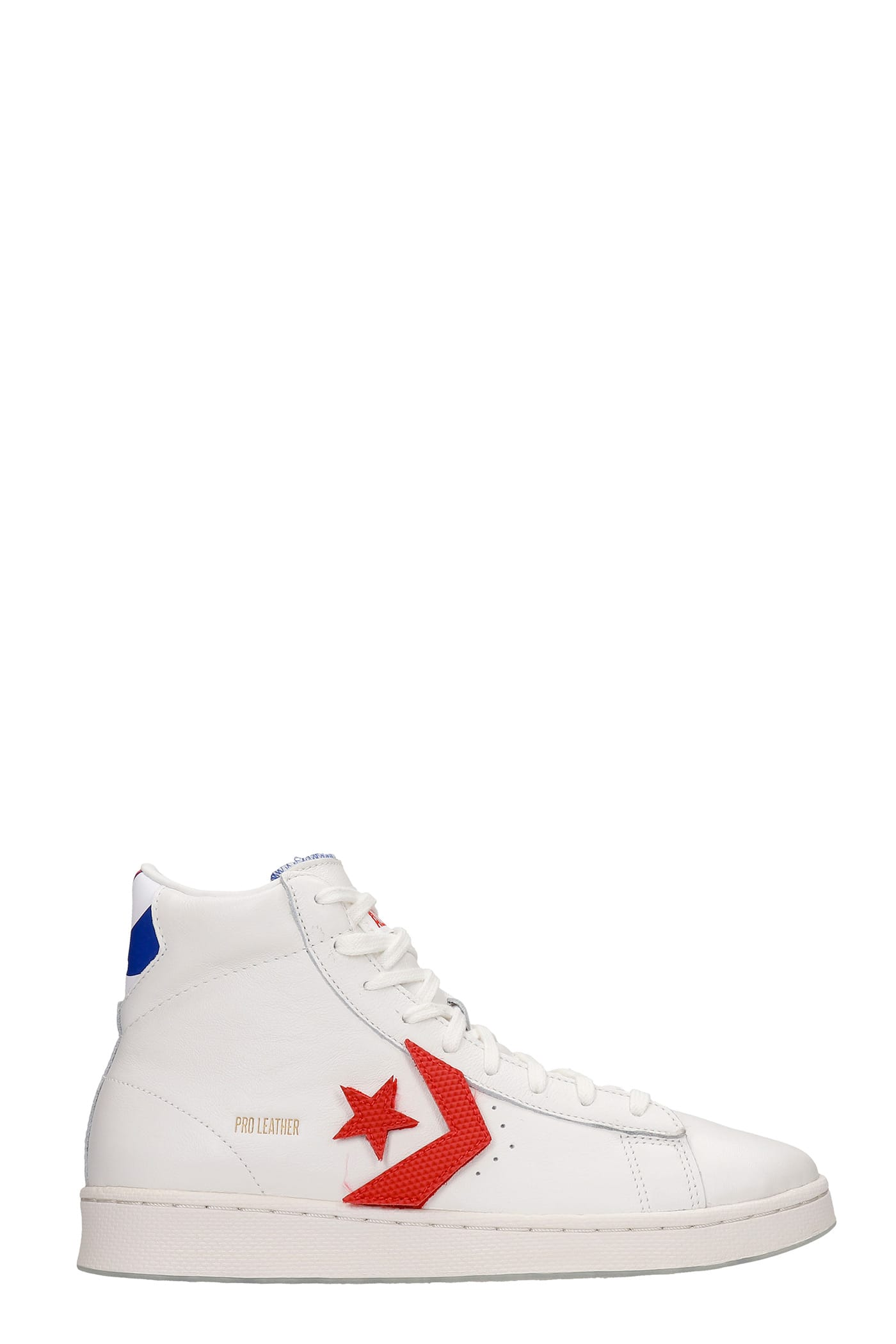 Converse Leathers PRO LEATHER SNEAKERS IN WHITE LEATHER