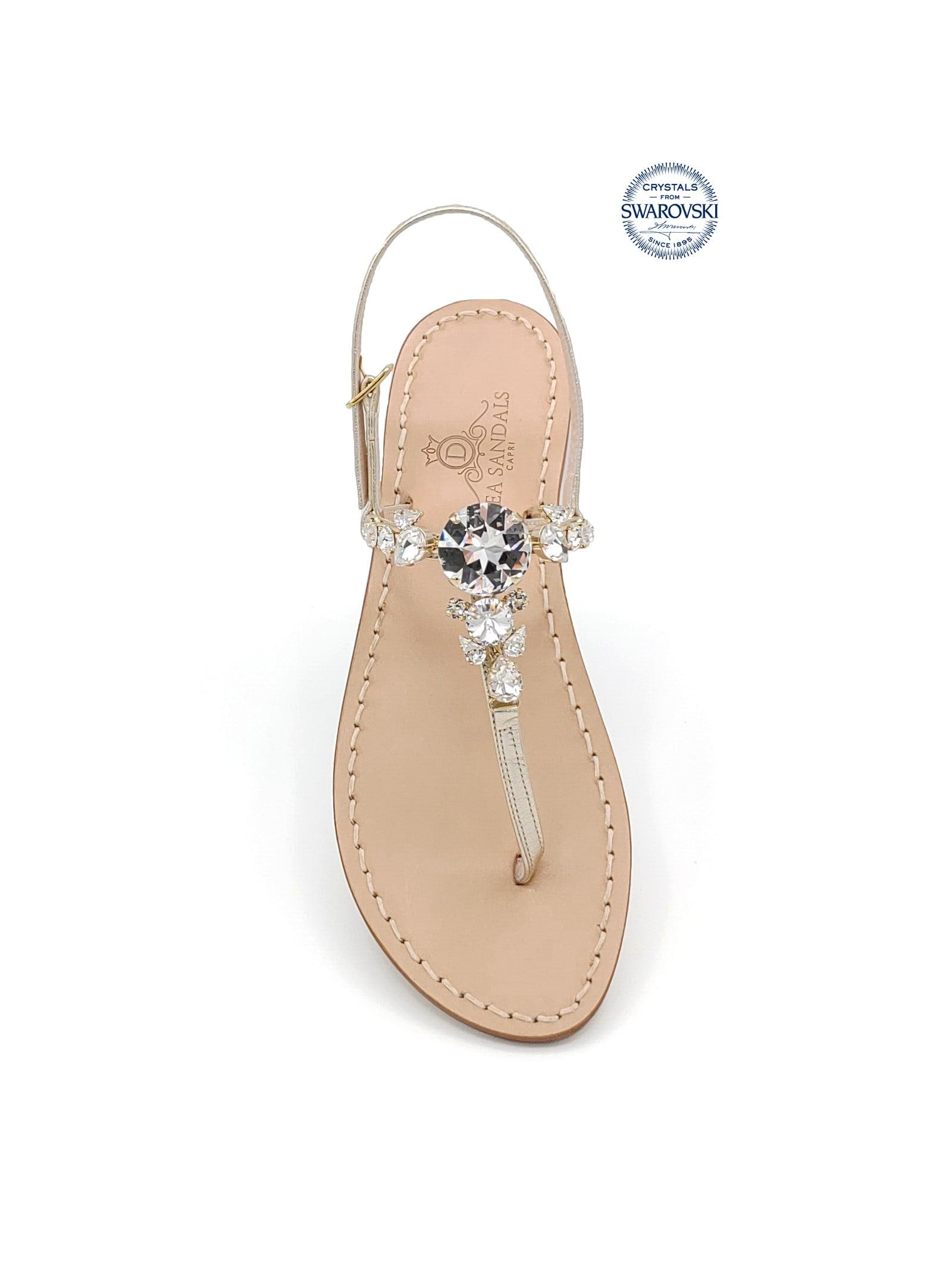 Torre Saracena Jewel Flip Flops Sandals