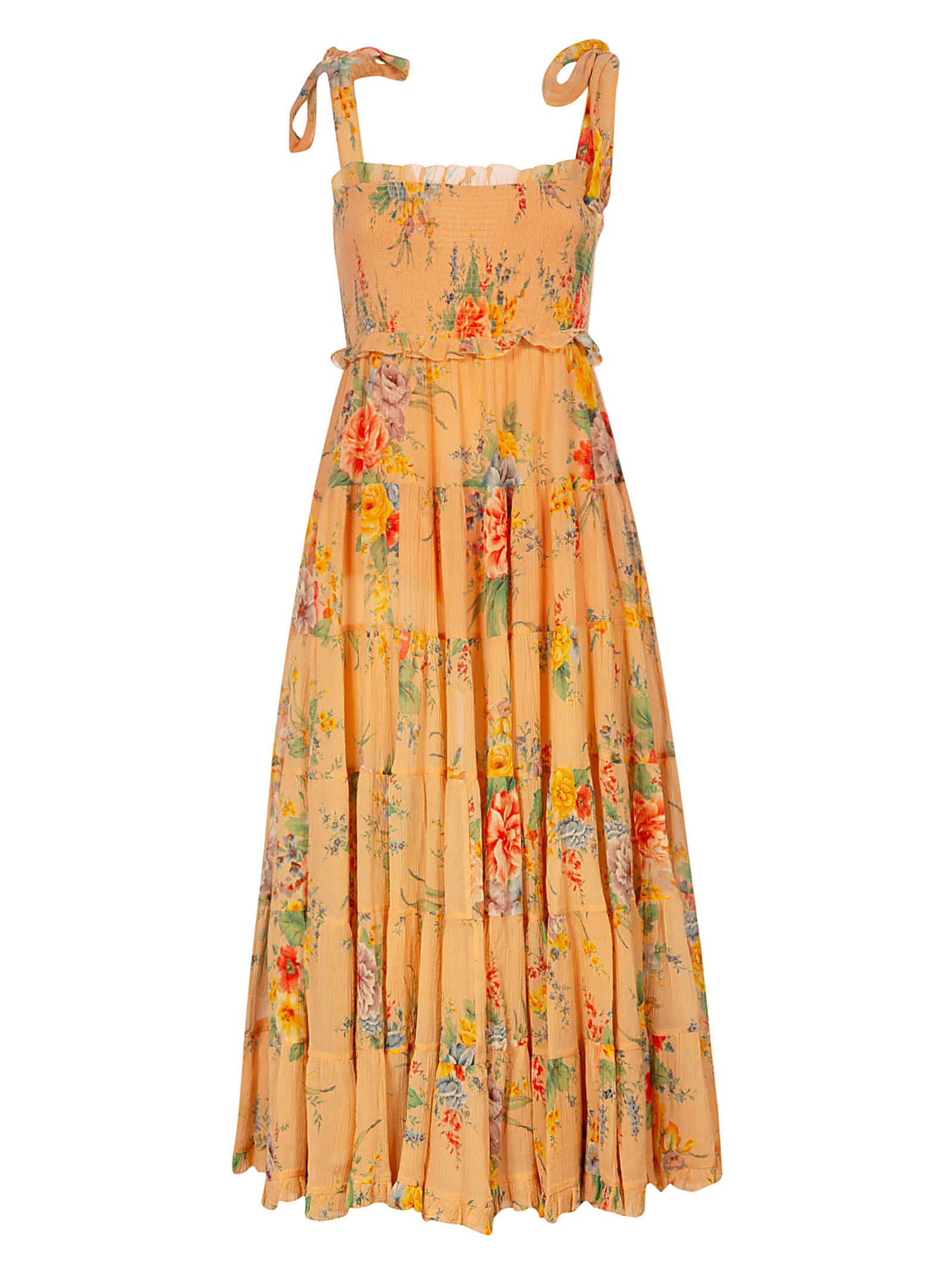 Buy Zimmermann Tired Sun Dress online, shop Zimmermann with free shipping