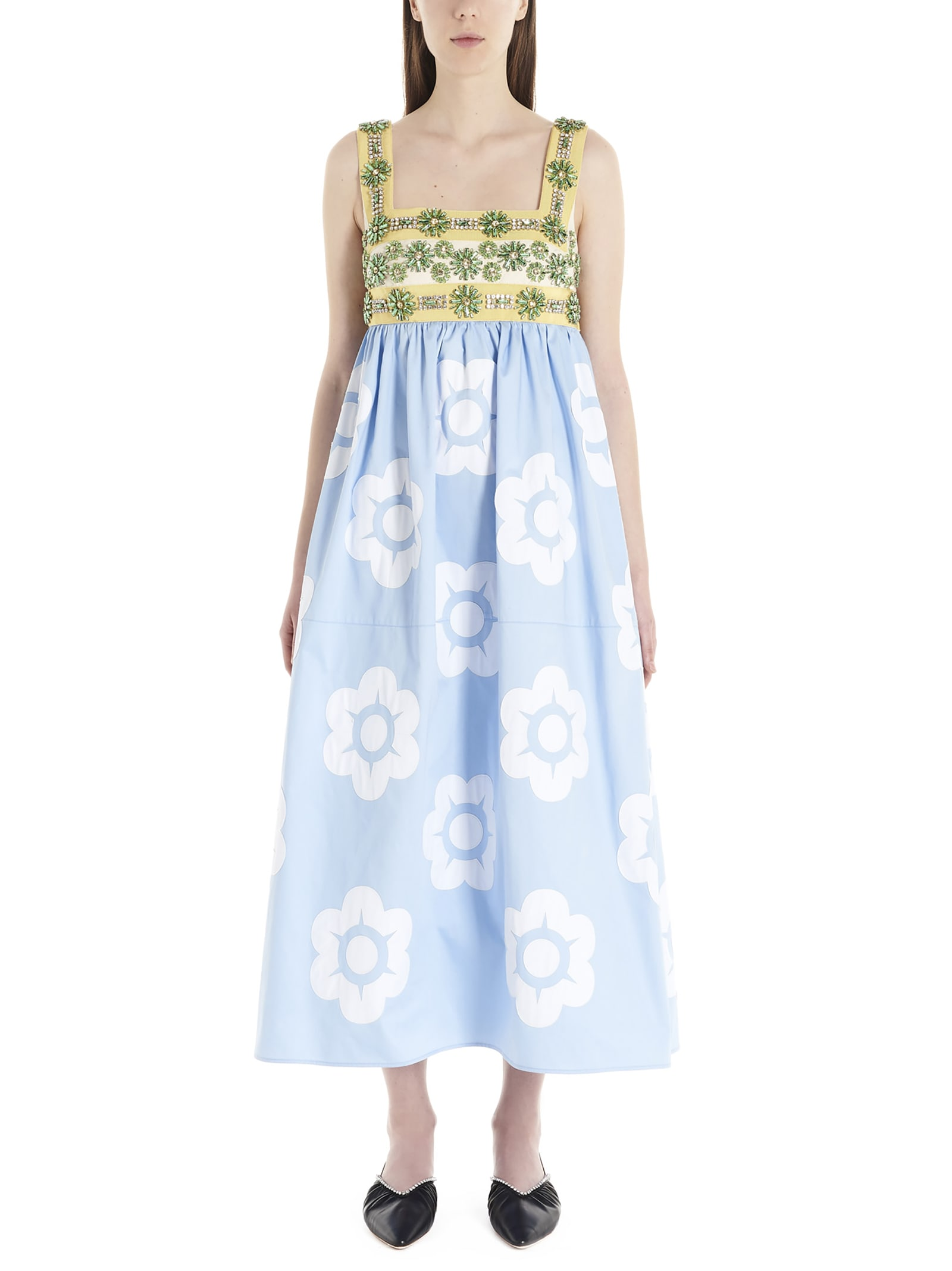 Buy Miu Miu Dress online, shop Miu Miu with free shipping