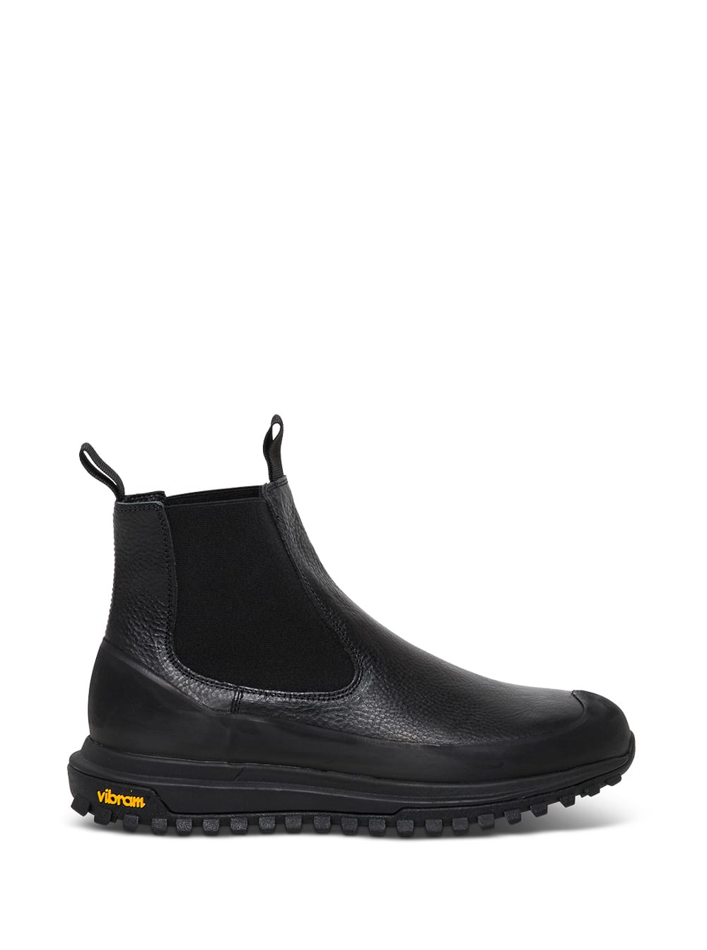 Ramon Leather Ankle Boots With Vibram Rubber Sole