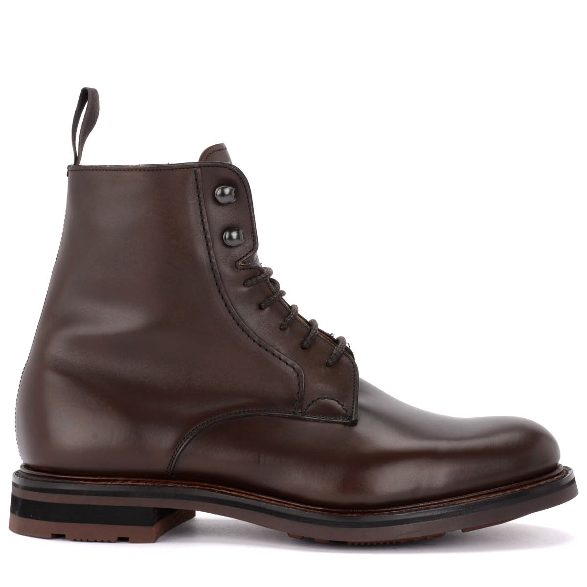Churchs Wootton Ankle Boot In Fine Brown Calf Leather