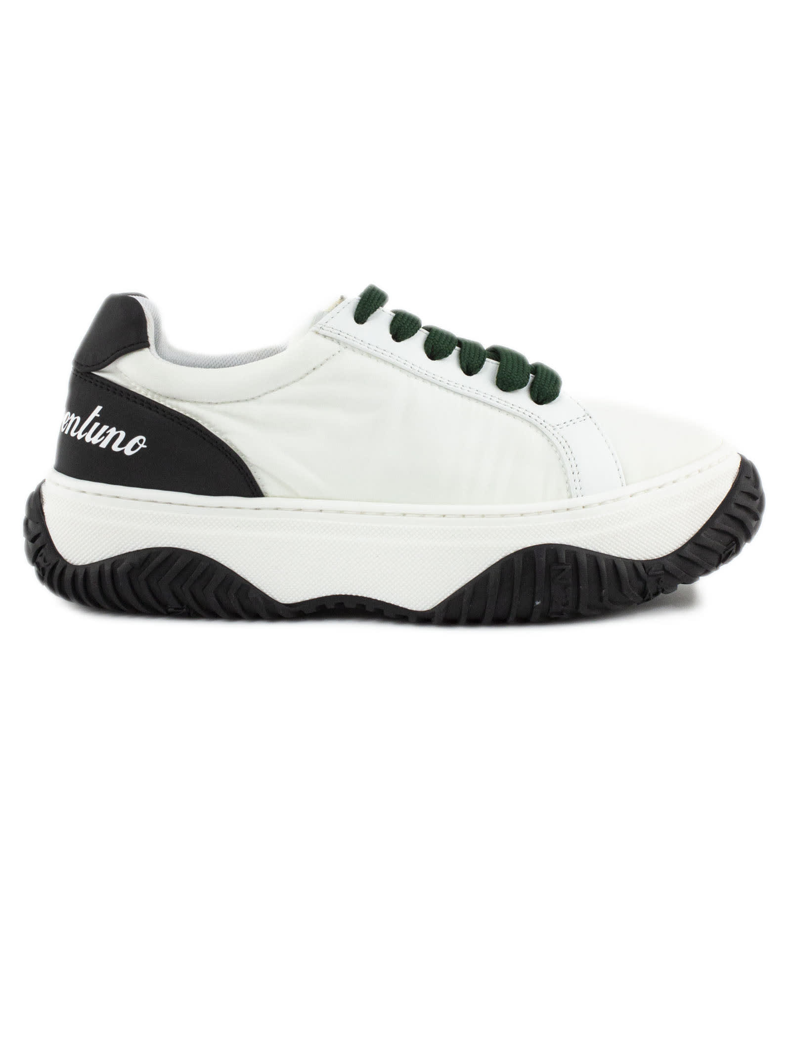 Buy N.21 White Bonnie Sneakers online, shop N.21 shoes with free shipping