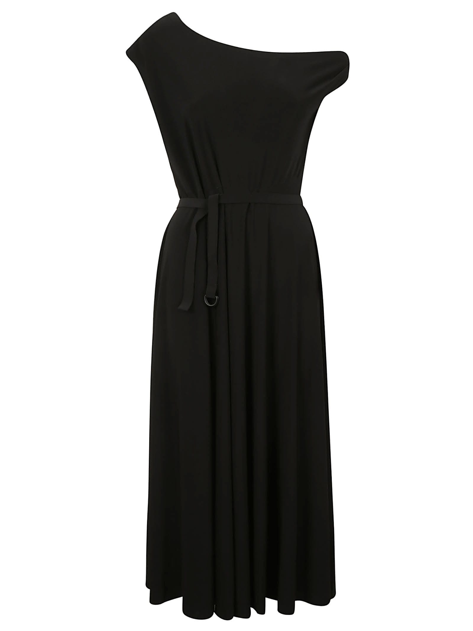 Buy Norma Kamali Drop Shoulder Flared Dress online, shop Norma Kamali with free shipping