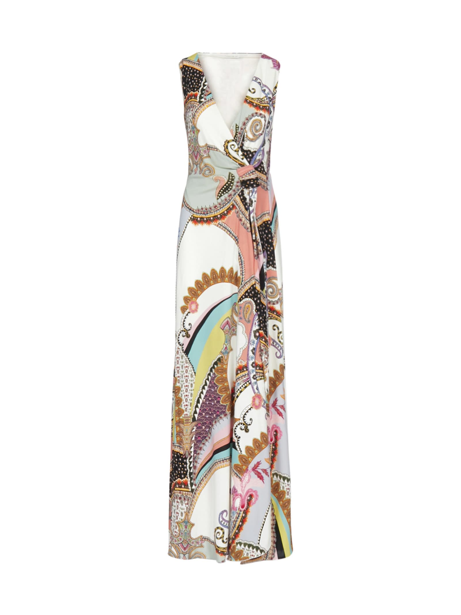 Buy Etro Long Fit Magniolia Dress online, shop Etro with free shipping