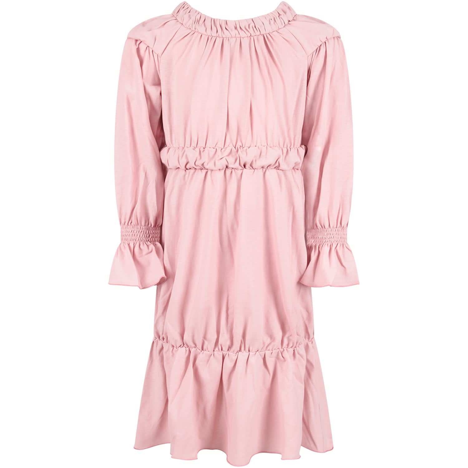 Owa Yurika Pink chloe Girl Dress