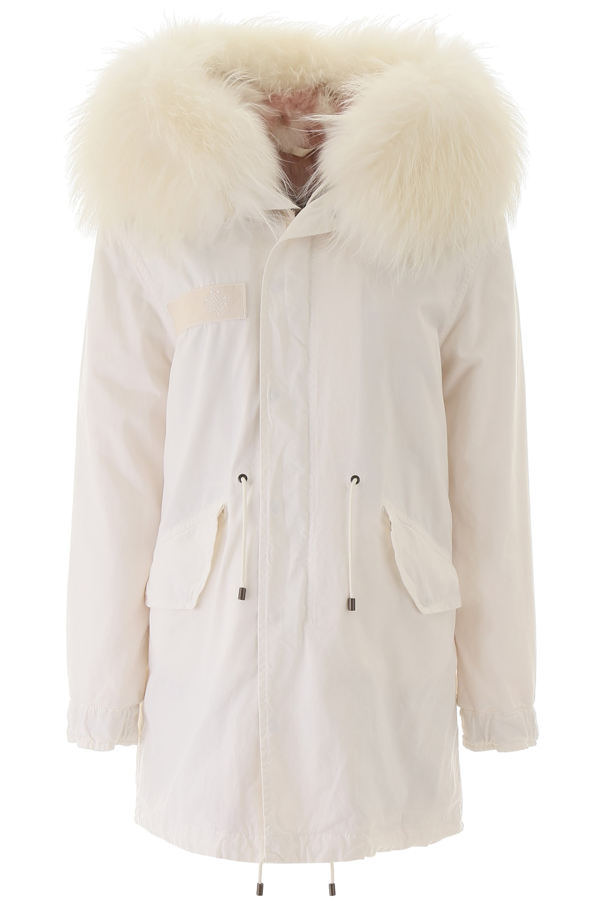 Photo of  Mr & Mrs Italy Jazzy Midi Parka With Fur- shop Mr & Mrs Italy jackets online sales