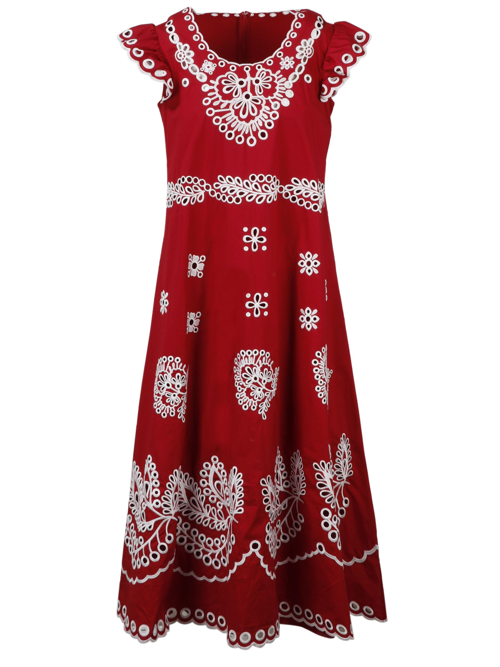 Buy Embroidery Dress online, shop RED Valentino with free shipping