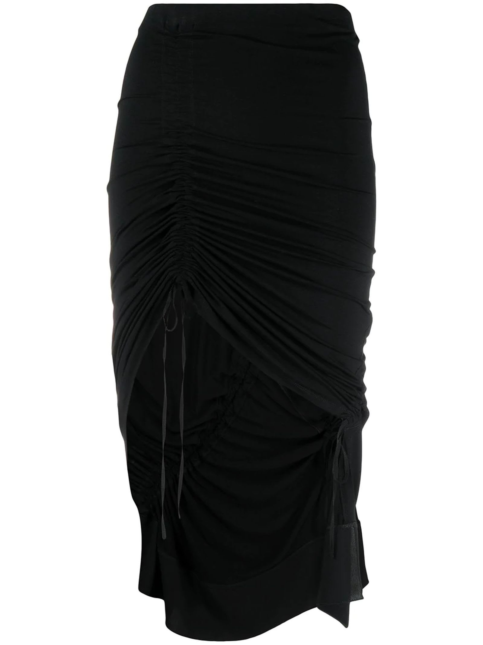 N°21 Mini skirts BLACK SKIRT