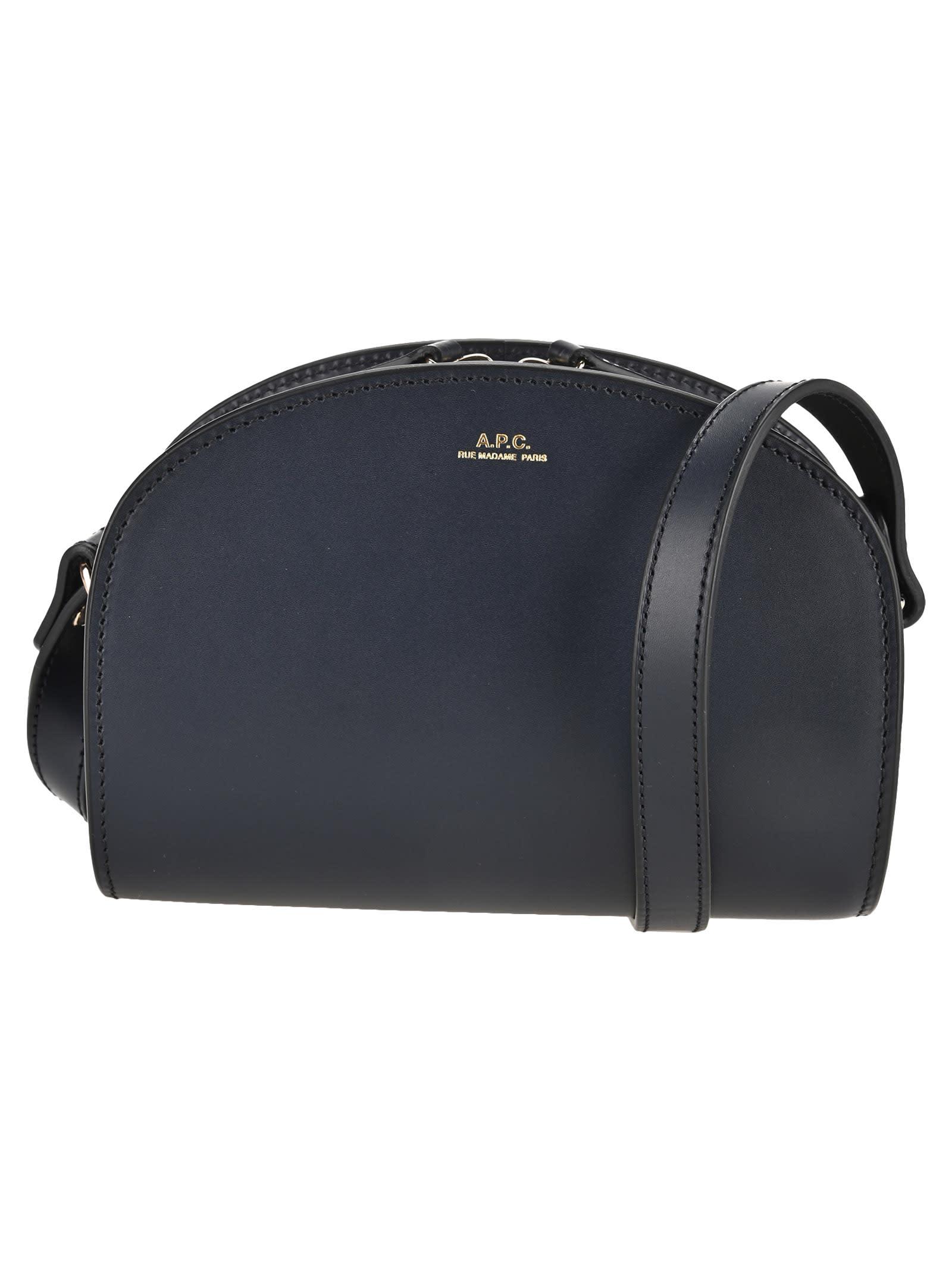 A.p.c. Leathers A.P.C. MINI DEMI-LUNE BAG