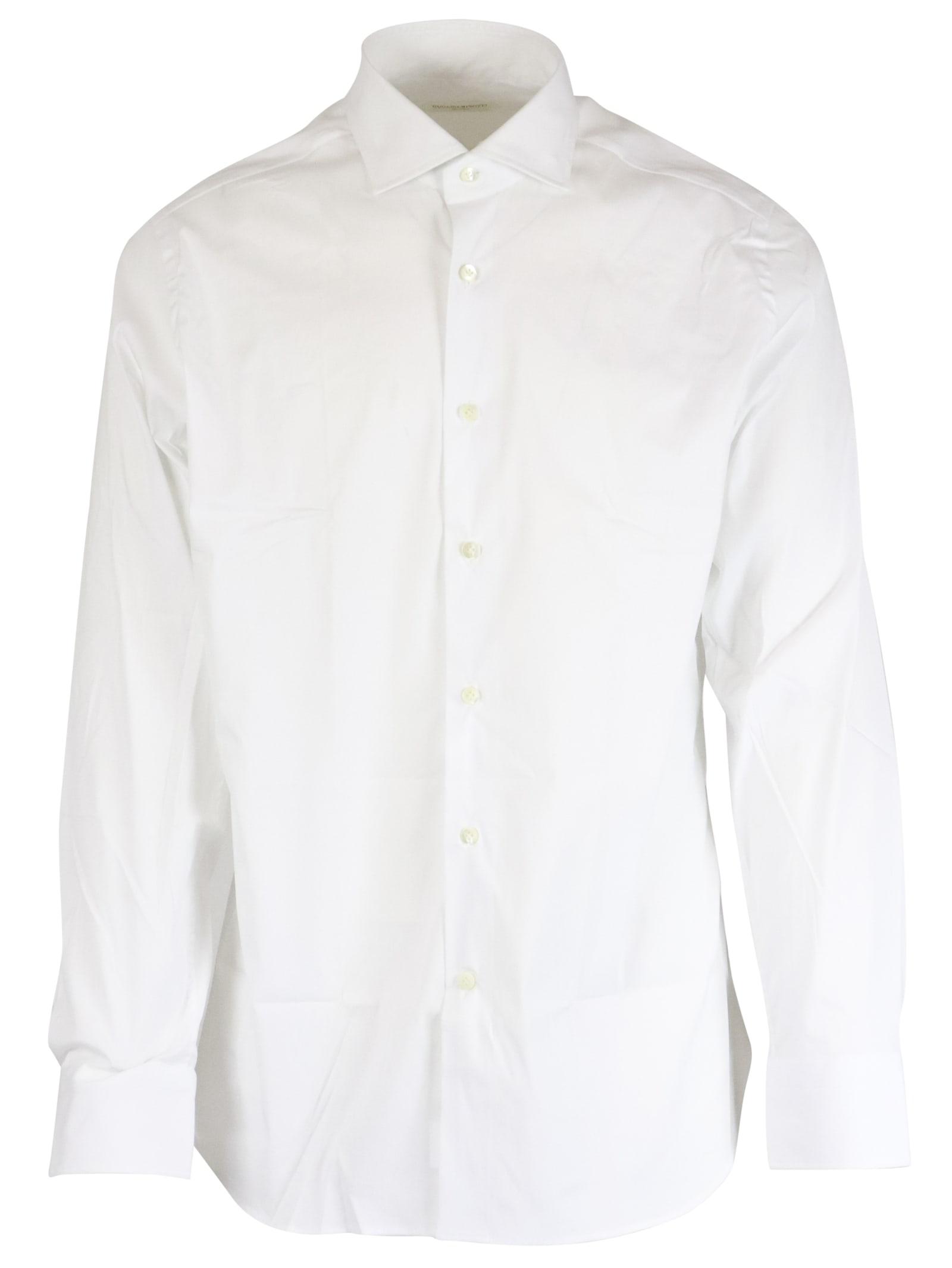 70% Cotton 27% Polyammidic 3% Elastane Shirt