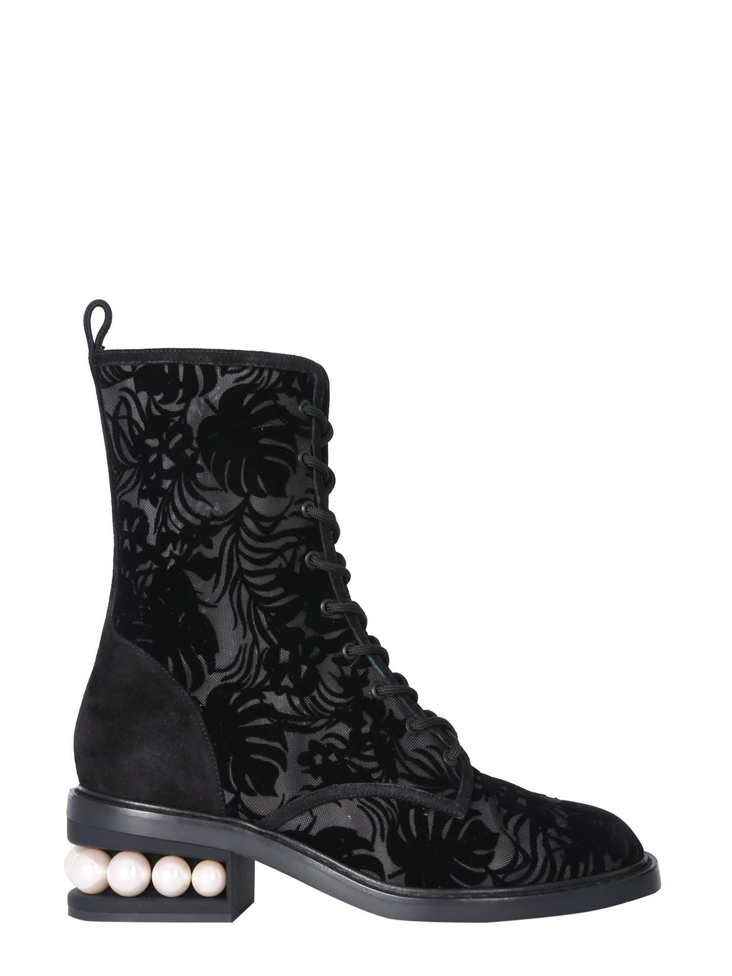 Buy Nicholas Kirkwood Casati Boots online, shop Nicholas Kirkwood shoes with free shipping