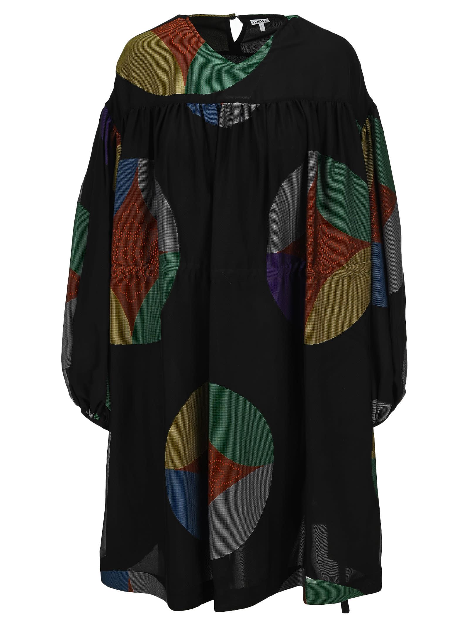 Buy Loewe Kaleidoscope Dress online, shop Loewe with free shipping