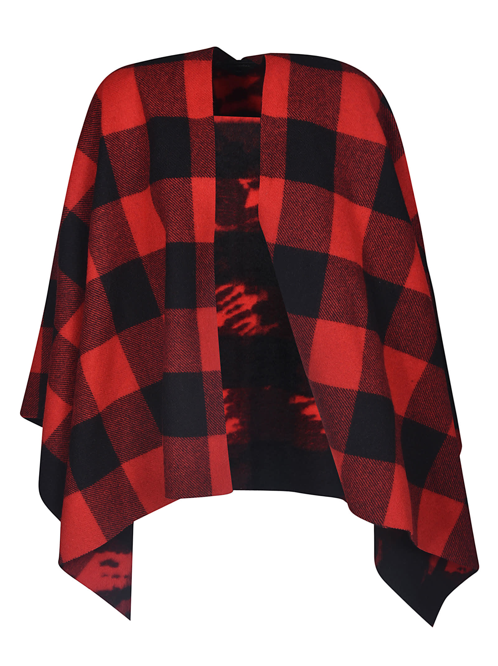 Dsquared2 Checked Poncho