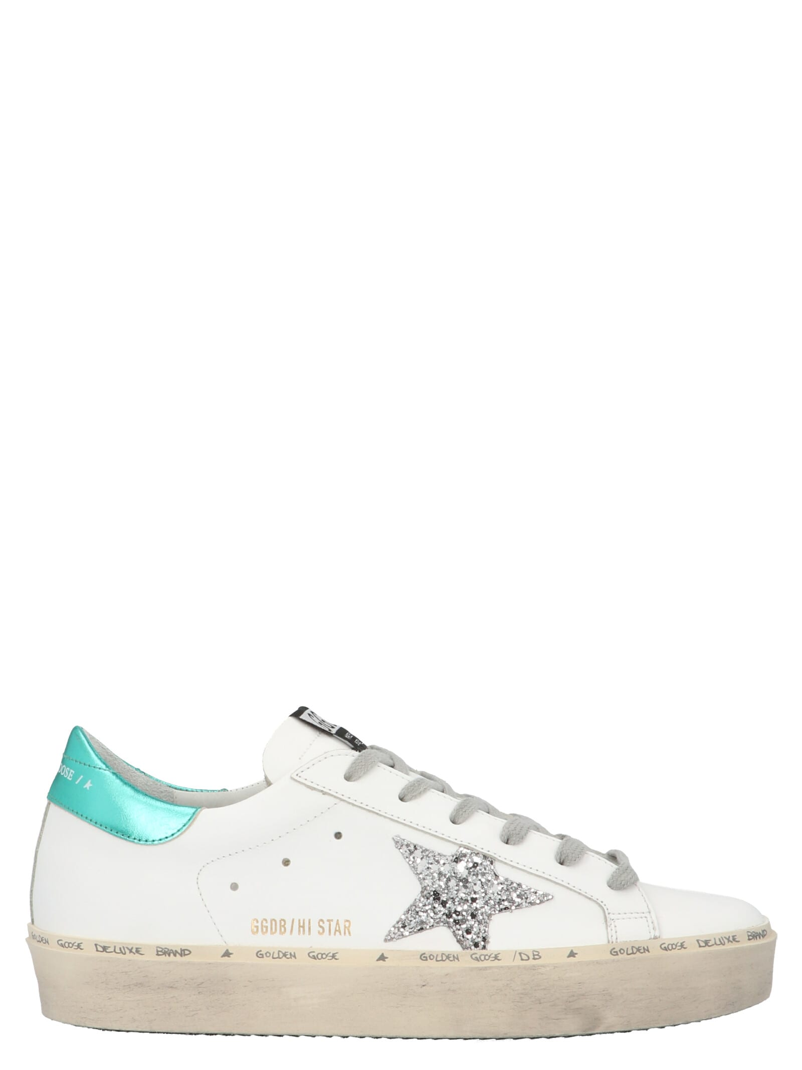 hi Star Shoes From Golden Goose: Leather hi Star SneakersComposition: 100% calf leather