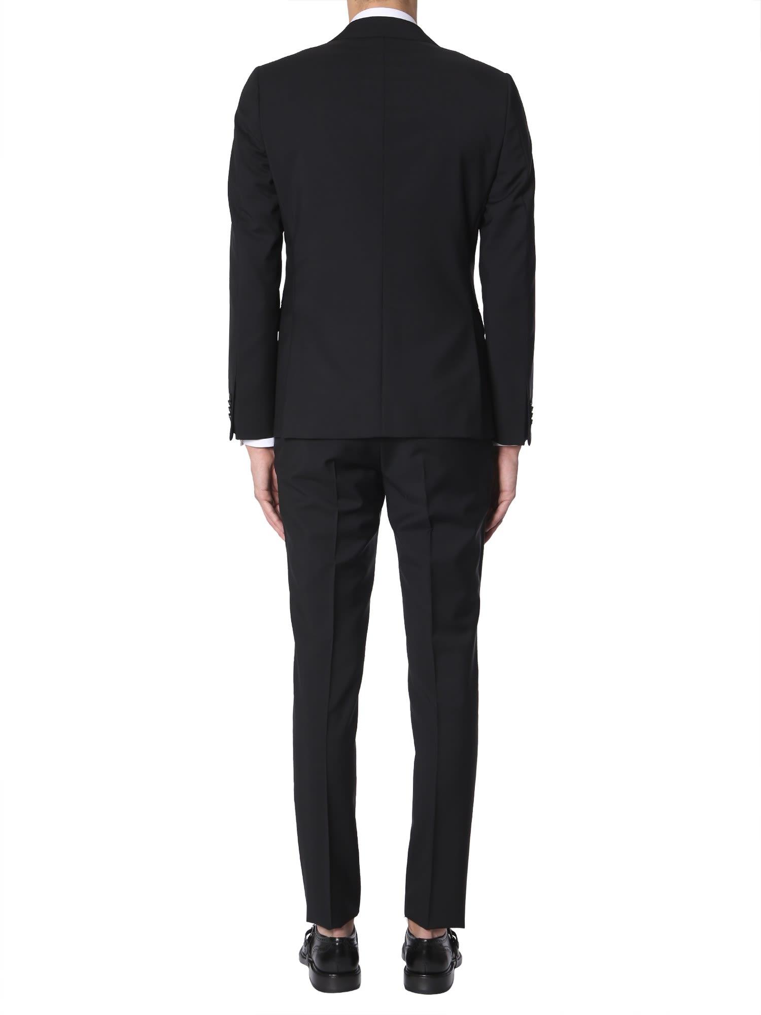 the best order online new varieties Z Zegna Z Zegna Complete Slim Fit Two-piece Suit - NERO ...