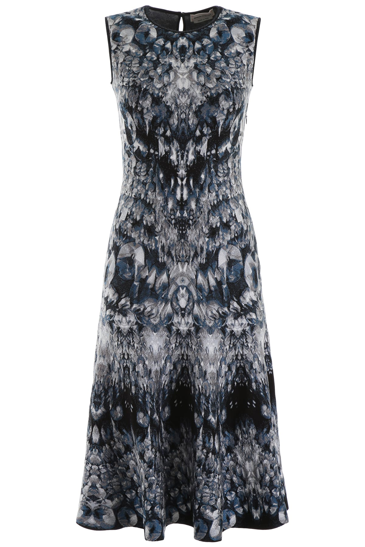 Buy Alexander McQueen Archive Print Dress online, shop Alexander McQueen with free shipping