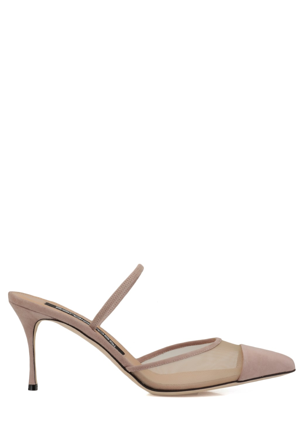 Buy Sergio Rossi Sabot Godiva 075 online, shop Sergio Rossi shoes with free shipping